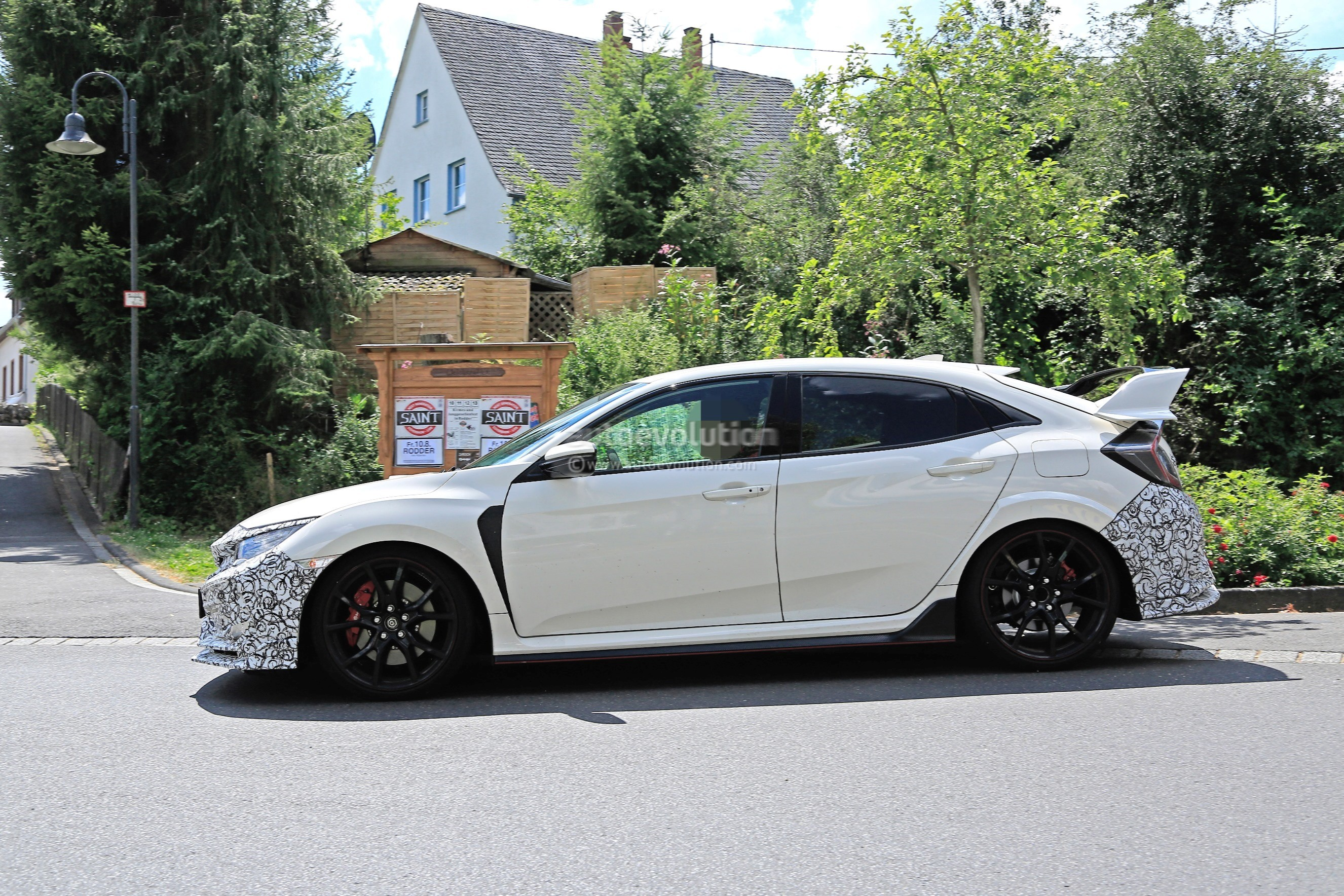 2019 Honda Civic Type R Spied For the First Time - autoevolution