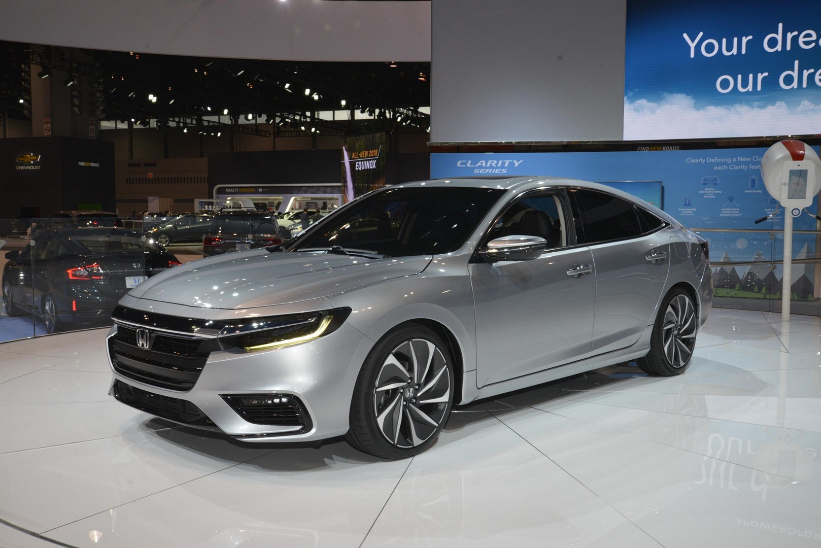 2019 Honda Insight Prototype In Detail at the Chicago Auto ...