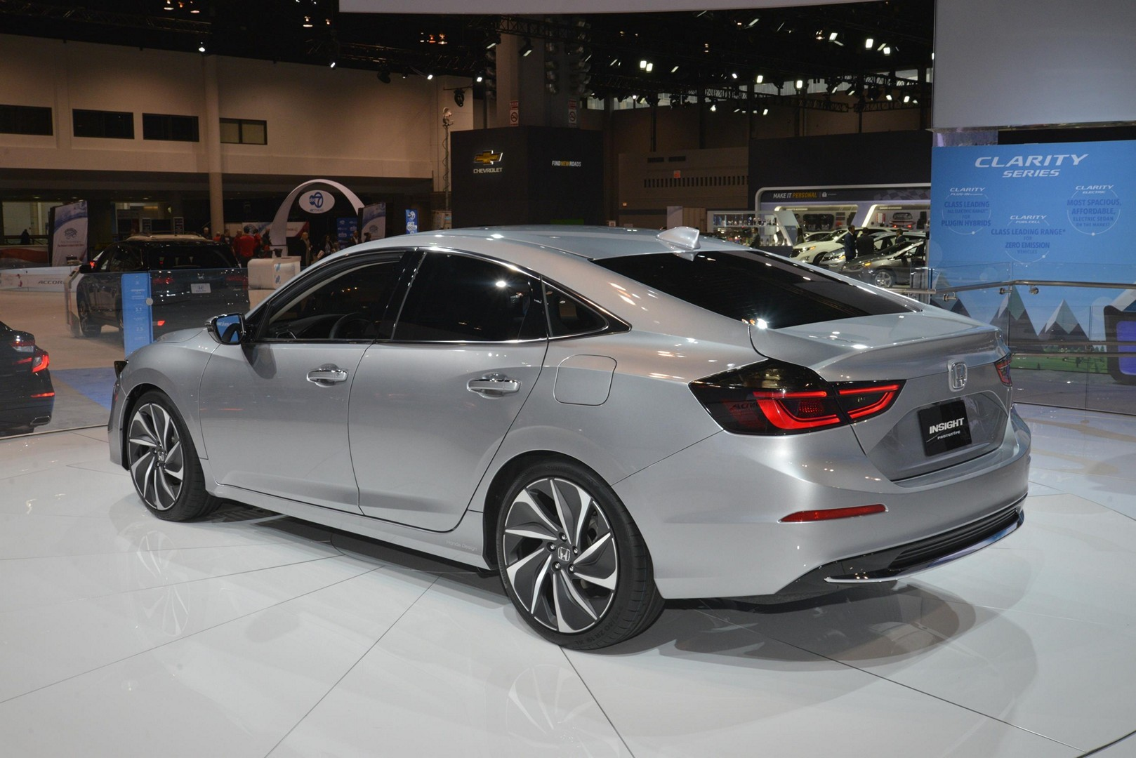 Junk Cars Chicago >> 2019 Honda Insight Prototype In Detail at the Chicago Auto Show - autoevolution