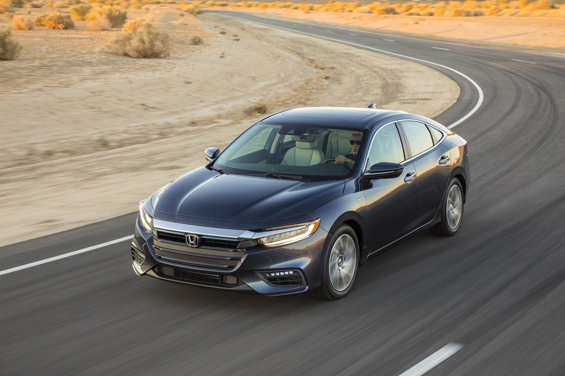 2019 Honda Insight Revealed In Production Ready Form