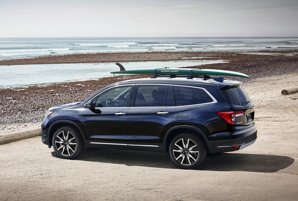 2019 honda pilot facelift goes on sale from 31 450 for Honda pilot images