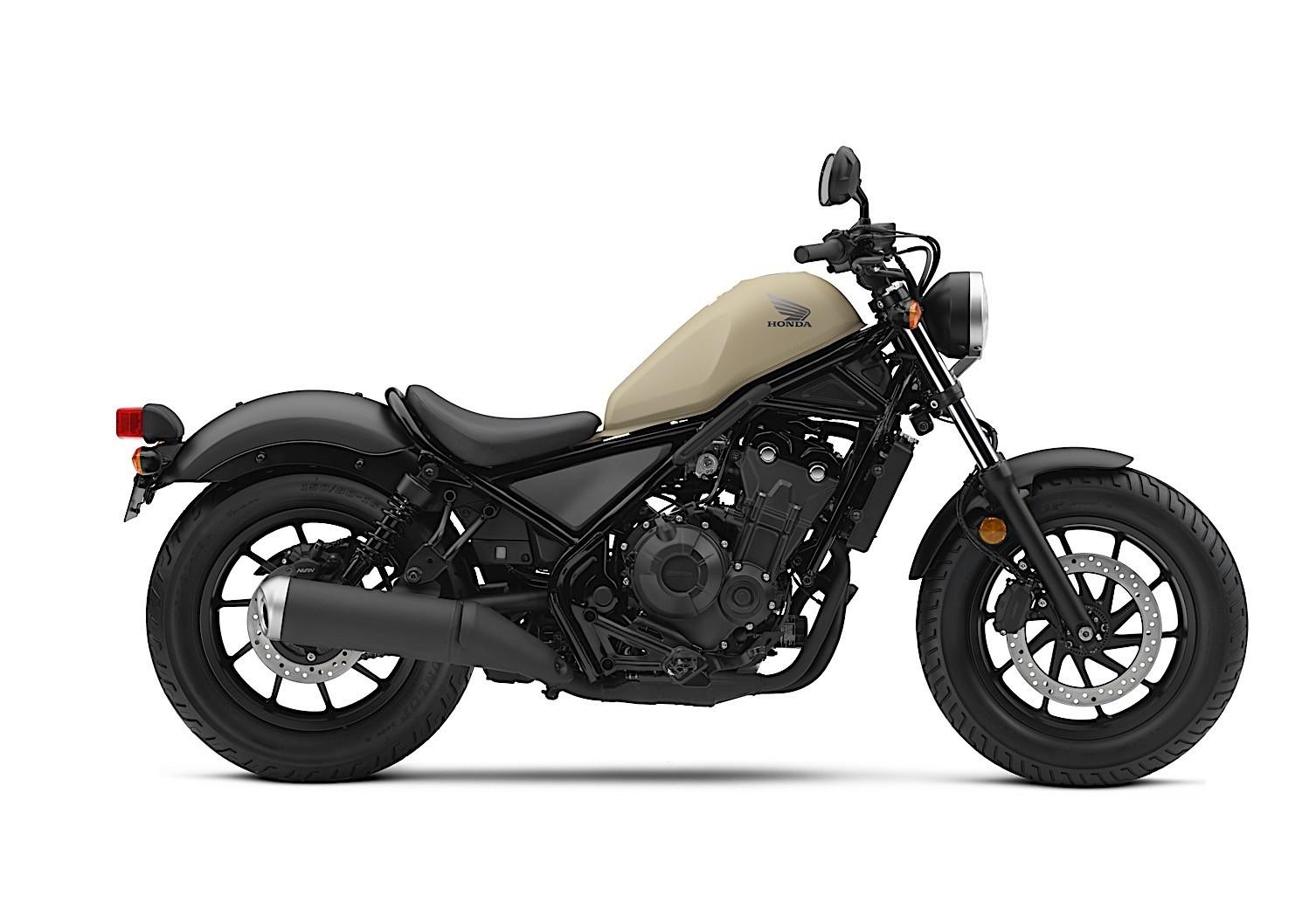 honda motorcycles street rebel announced pricing cmx500 cmx300 models lineup autoevolution motorblog