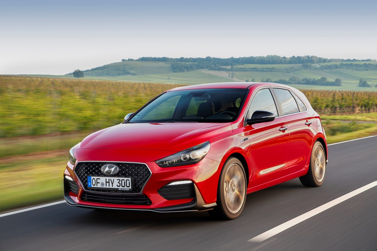 2019 hyundai i30 n line is no hot hatchback but still. Black Bedroom Furniture Sets. Home Design Ideas