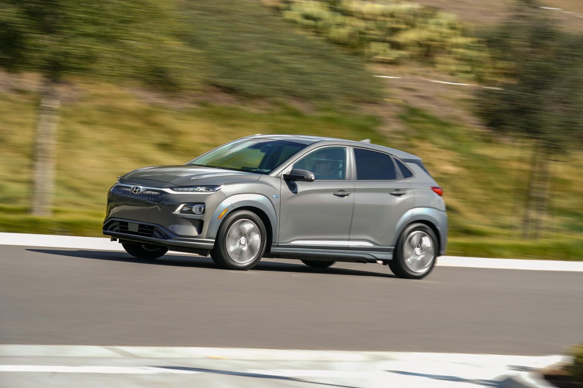 2019 Hyundai Kona Electric Gets EPA-rated 258 Miles Of ...