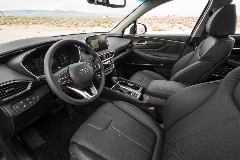 2019 Hyundai Santa Fe Crosses The Ocean For Nyias Gets