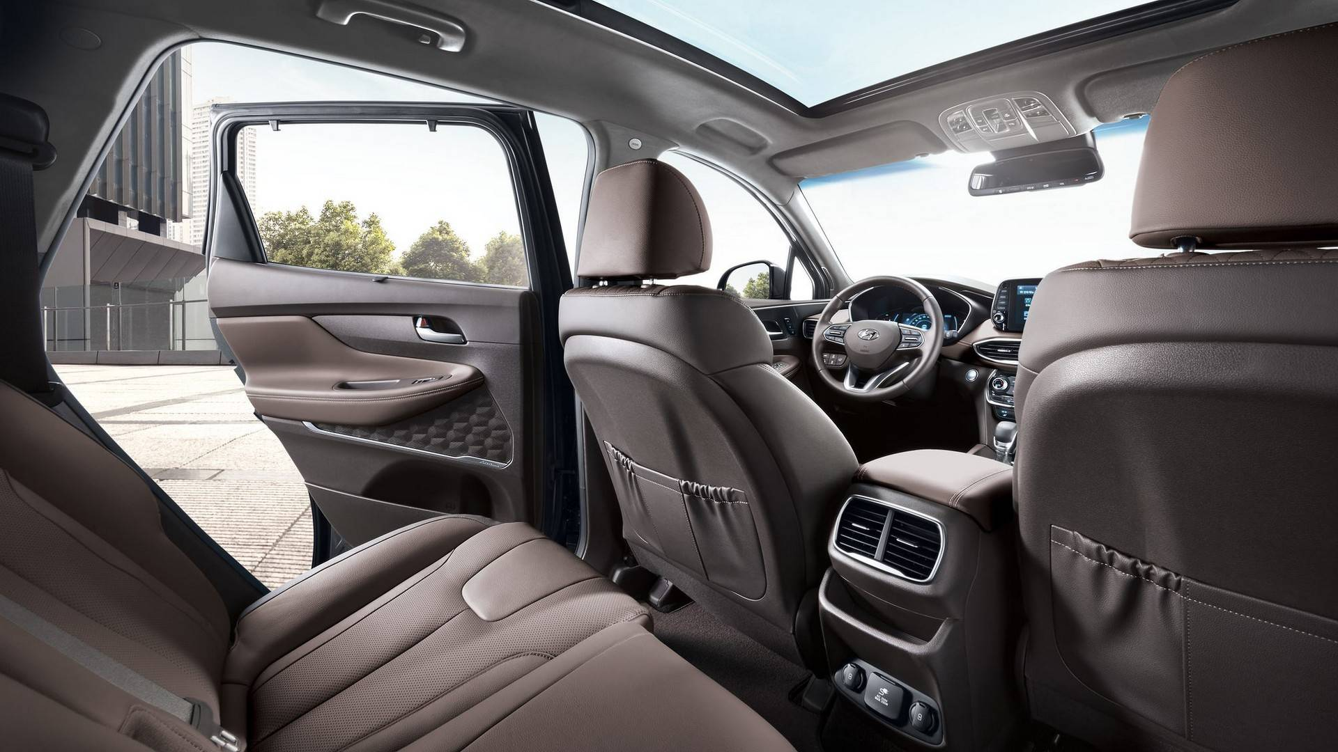 2019 Hyundai Santa Fe Looks Magnificent In New Official Photos And Videos Autoevolution