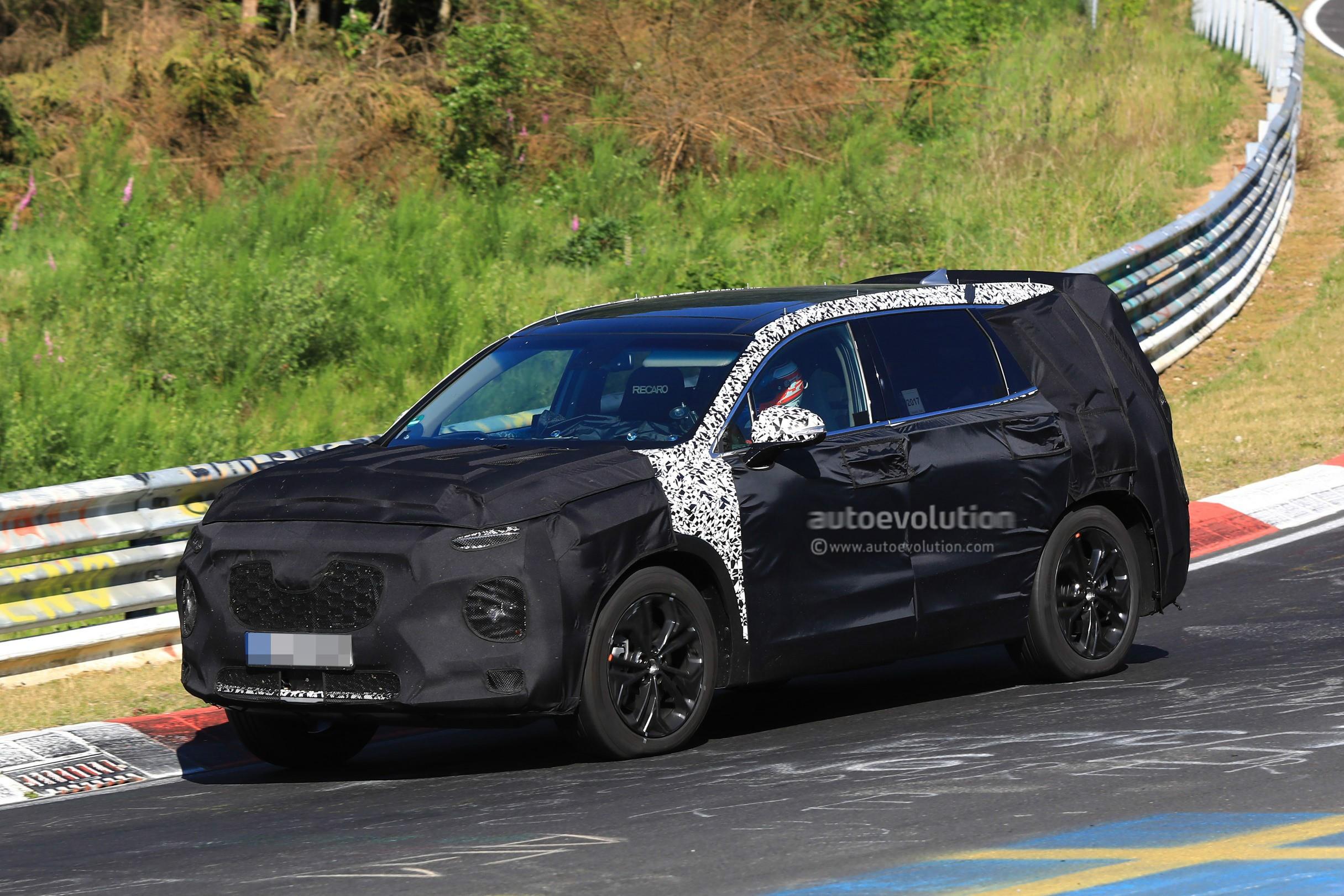 2019 Hyundai Santa Fe Masterfully Rendered By Brenthon ...