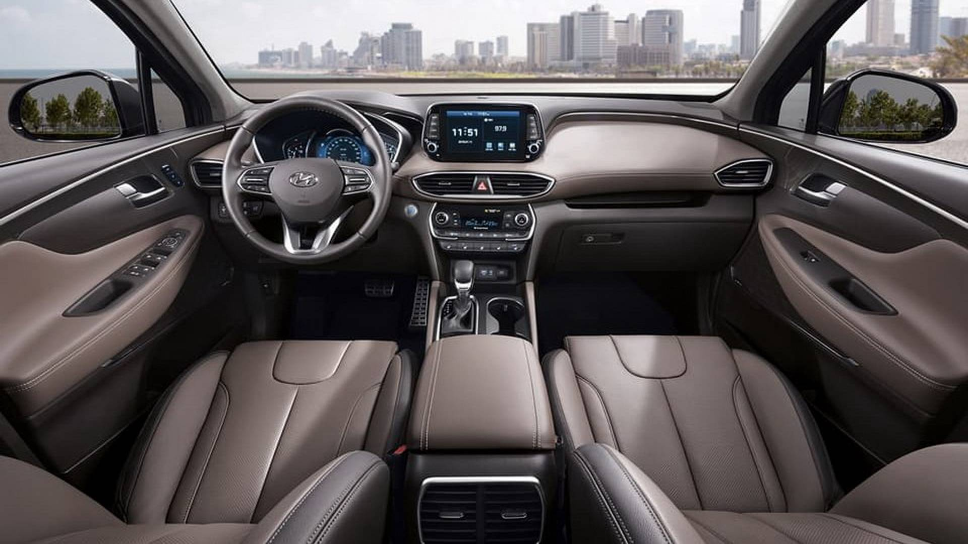 2019 Hyundai Santa Fe Design Price >> 2019 Hyundai Santa Fe Official Images Reveal a Completely New SUV - autoevolution