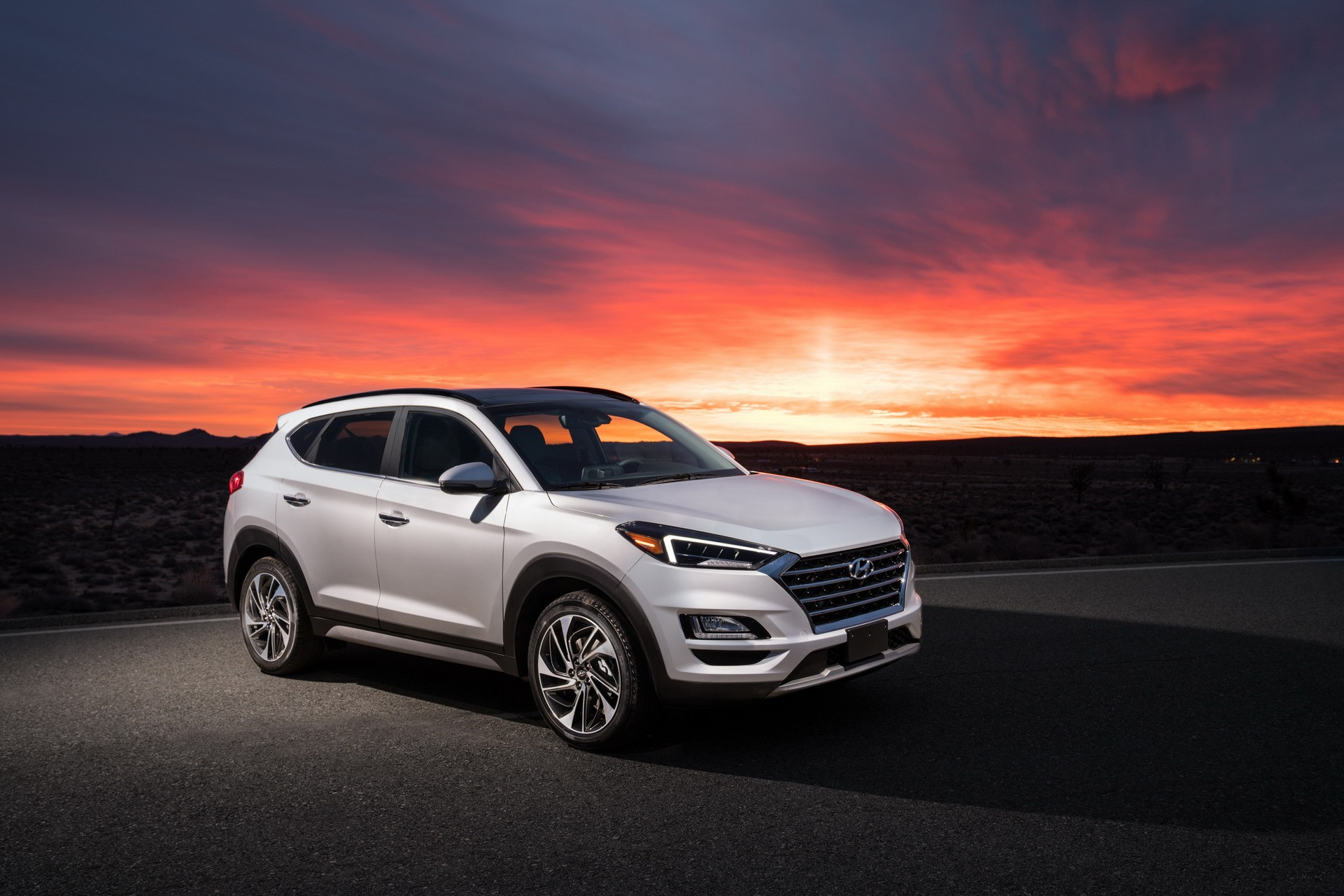 2019 Hyundai Tucson Debuts With Refreshed Face, Drops 1.6 Turbo - autoevolution