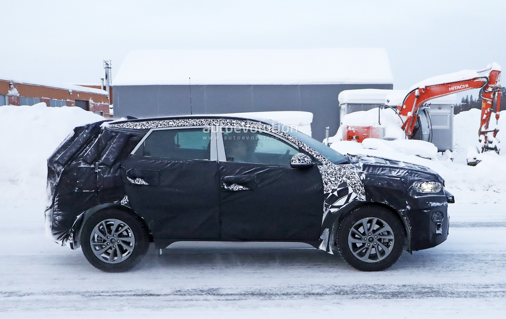 Cadillac Xt4 2019 >> 2019 Hyundai Tucson Facelift Spied Undergoing Winter Testing - autoevolution