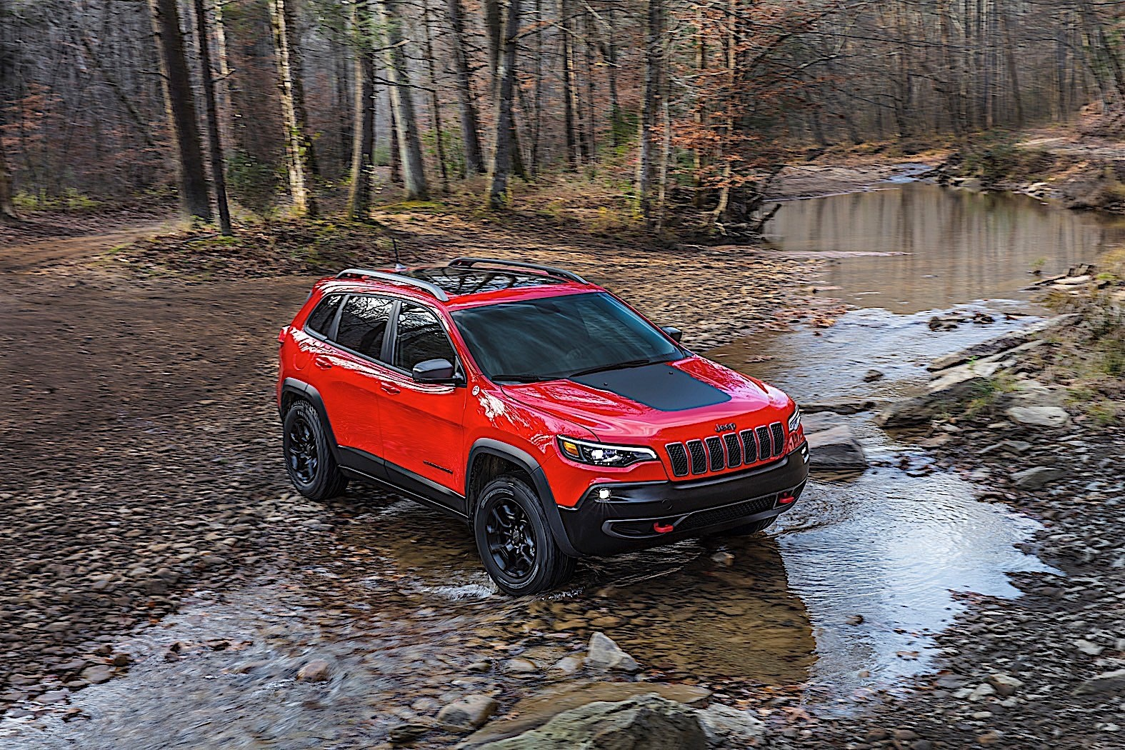 2019 jeep cherokee pricing starts at 25 190 autoevolution. Black Bedroom Furniture Sets. Home Design Ideas