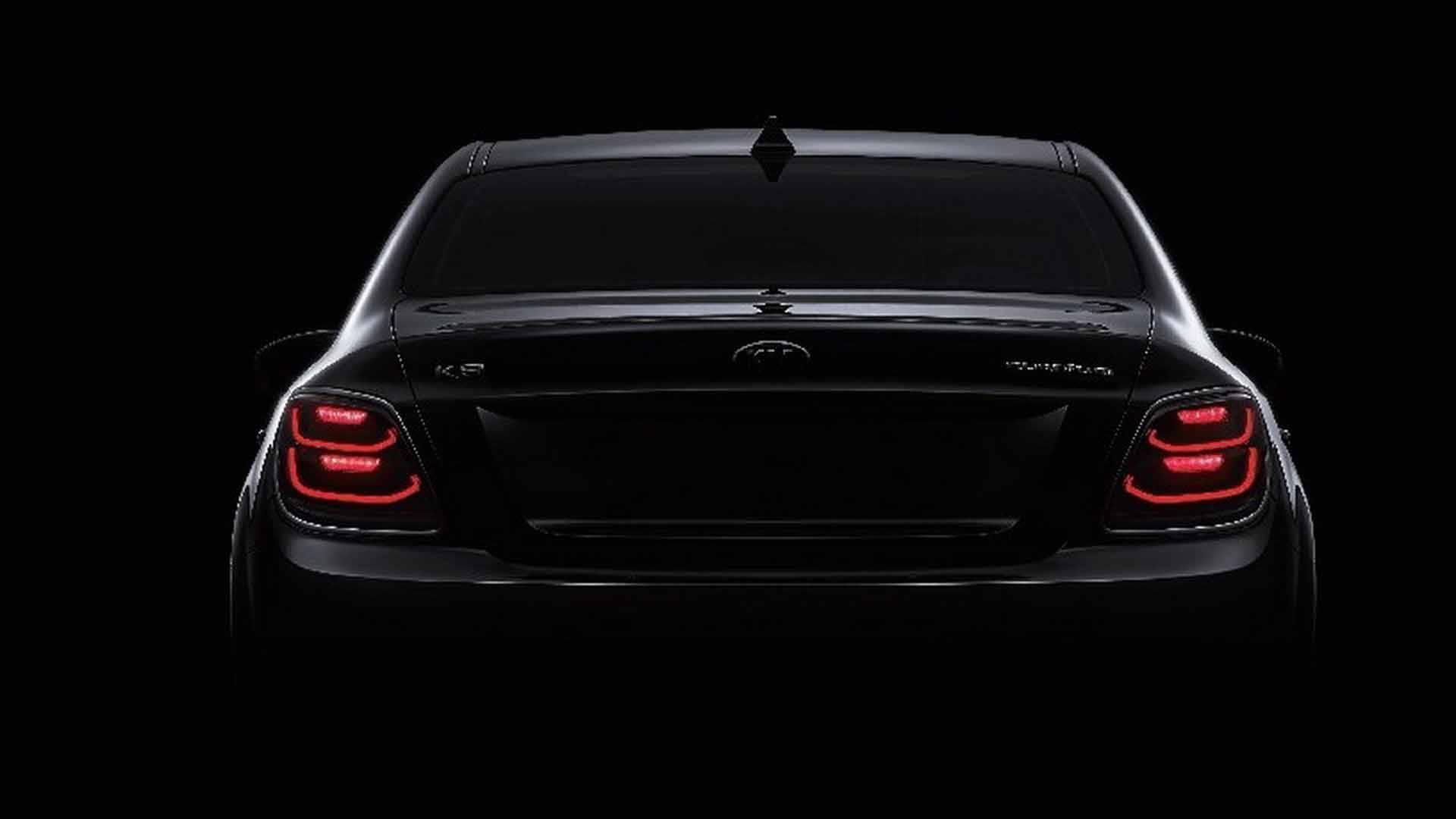 2019 Kia K900/K9 Facelift Teaser Shows New Headlights ...