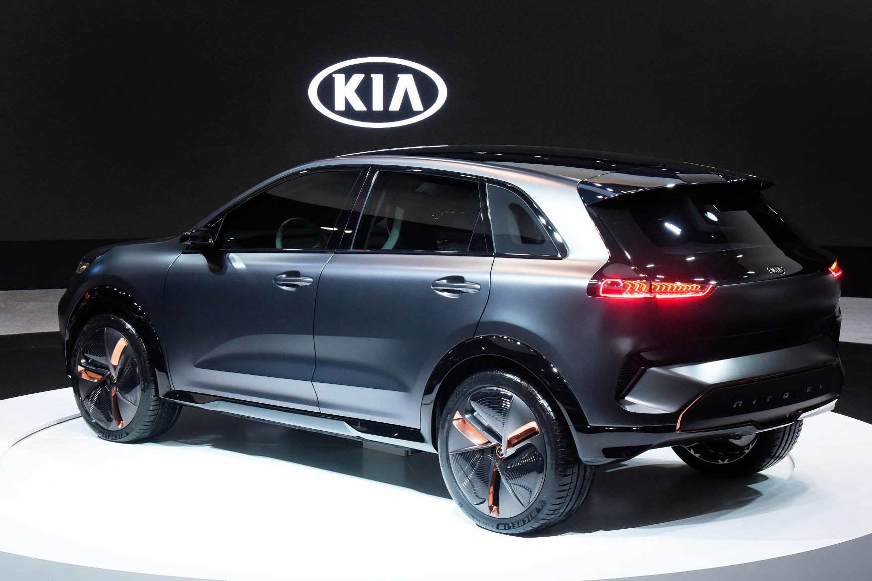 2019 kia niro ev revealed in south korea autoevolution. Black Bedroom Furniture Sets. Home Design Ideas