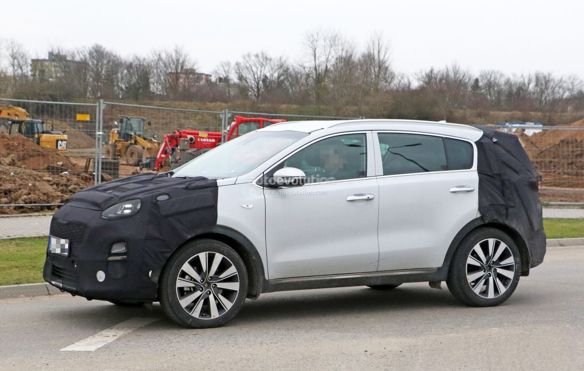 2019 Kia Sportage Facelift Gets New Ceed Headlights In