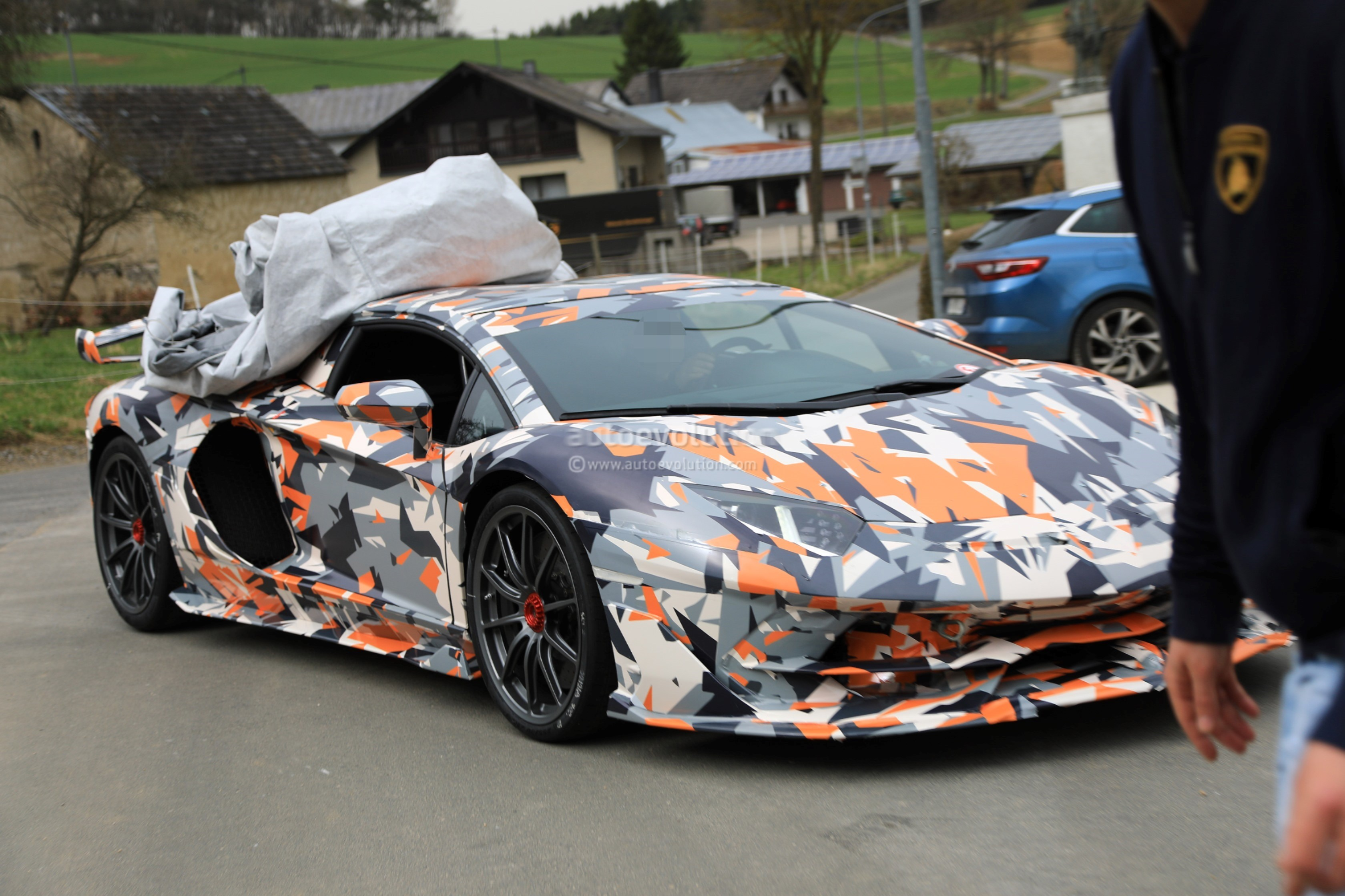 2019 Lamborghini Aventador SVJ Could Be the Nurburgring's ...