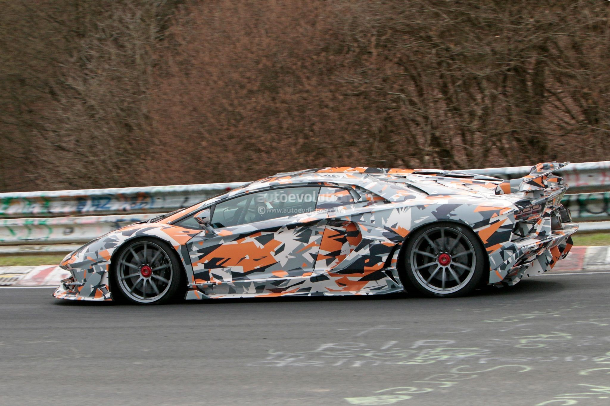 2019 Lamborghini Aventador Svj Looks Serious On Aero In