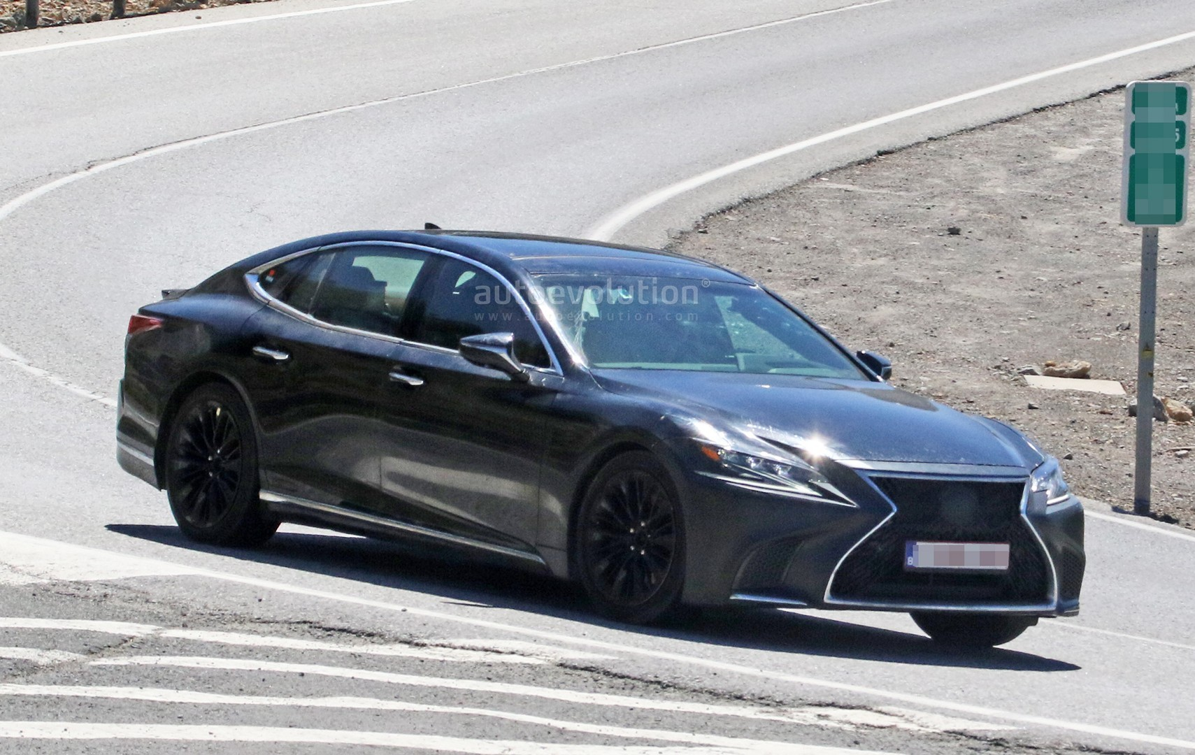 Beautiful ... Spyshots: 2019 Lexus LS F Spotted, Could Pack Twin Turbo V8 ...