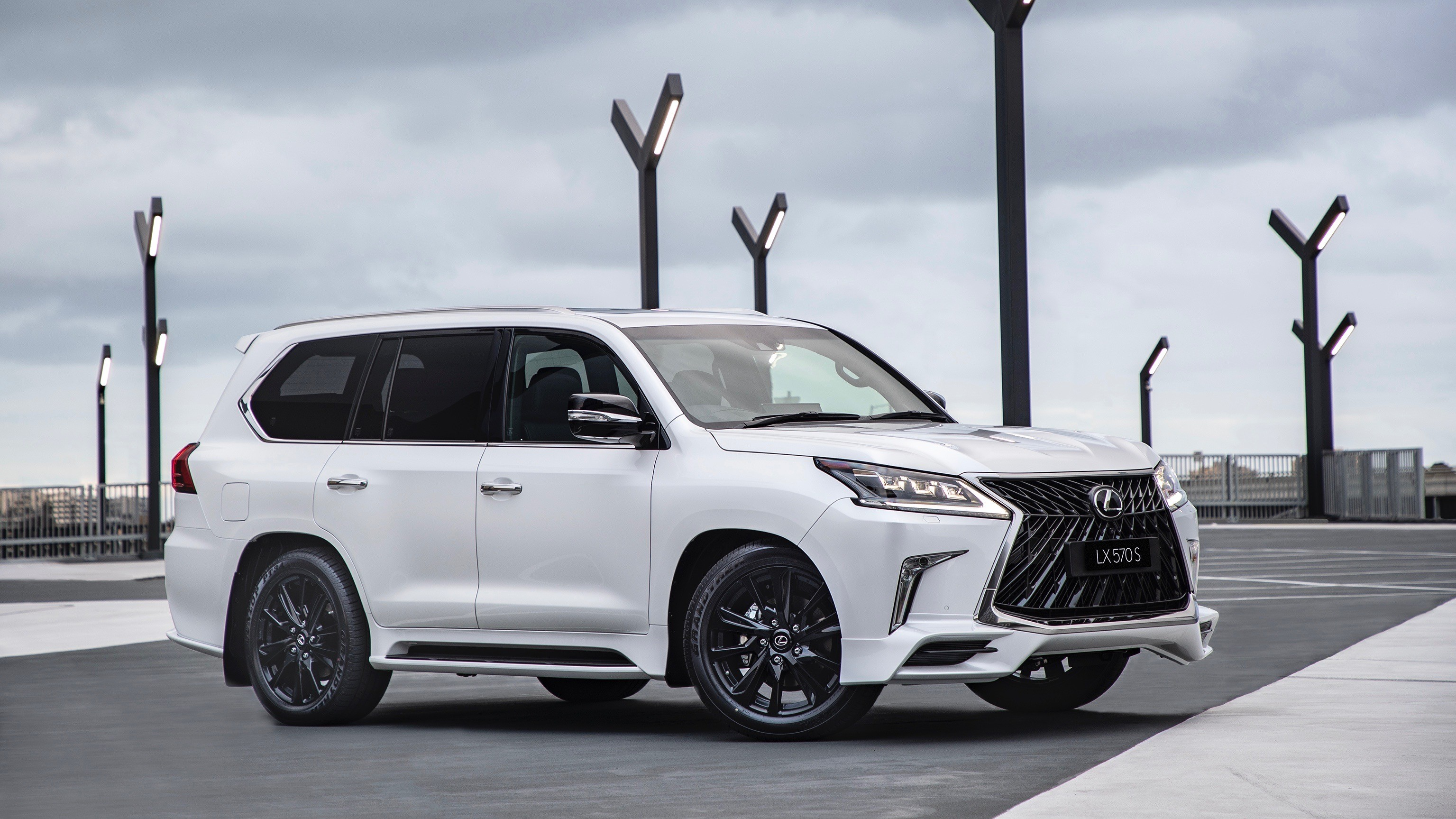 ... 2019 Lexus LX 570 S Debuts In Australia With Angry Body Kit ...