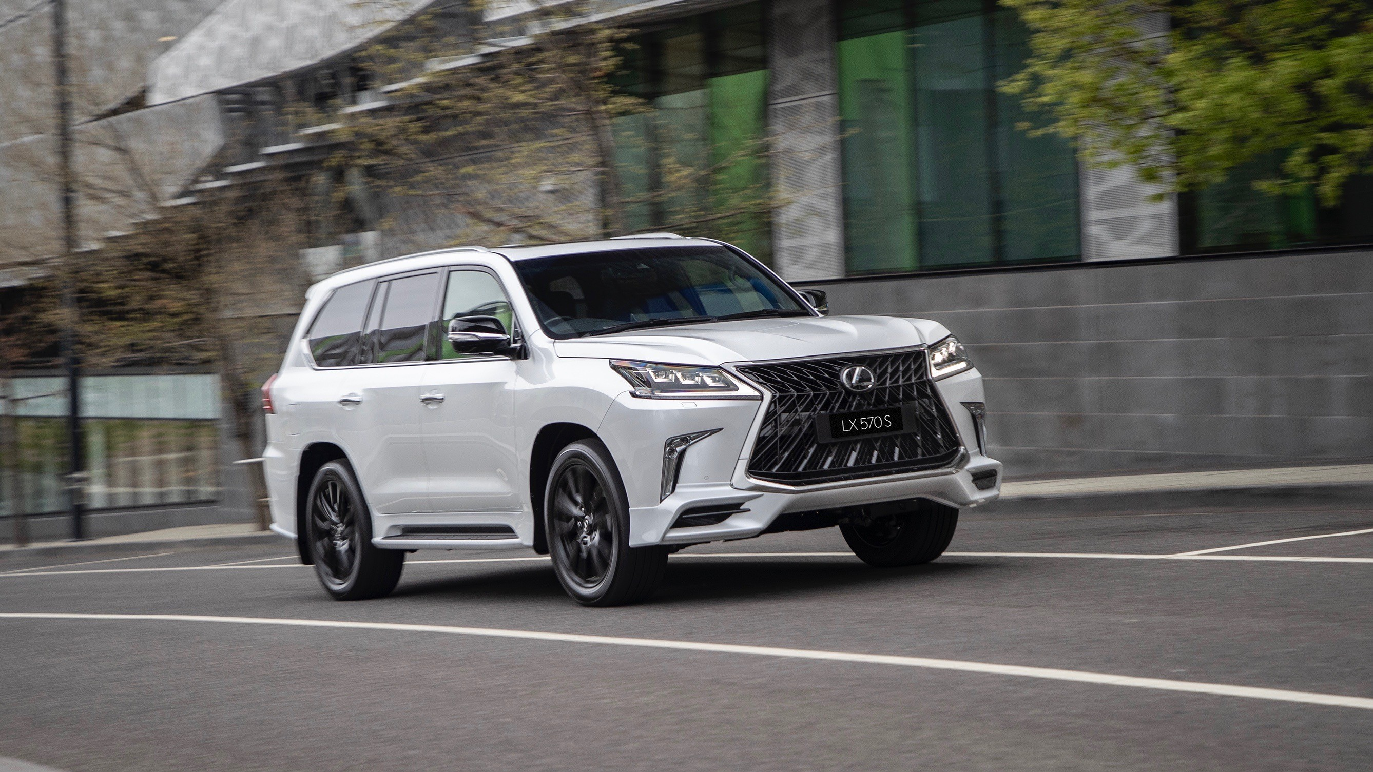 2019 Lexus Lx 570 S Debuts In Australia With Angry Body Kit