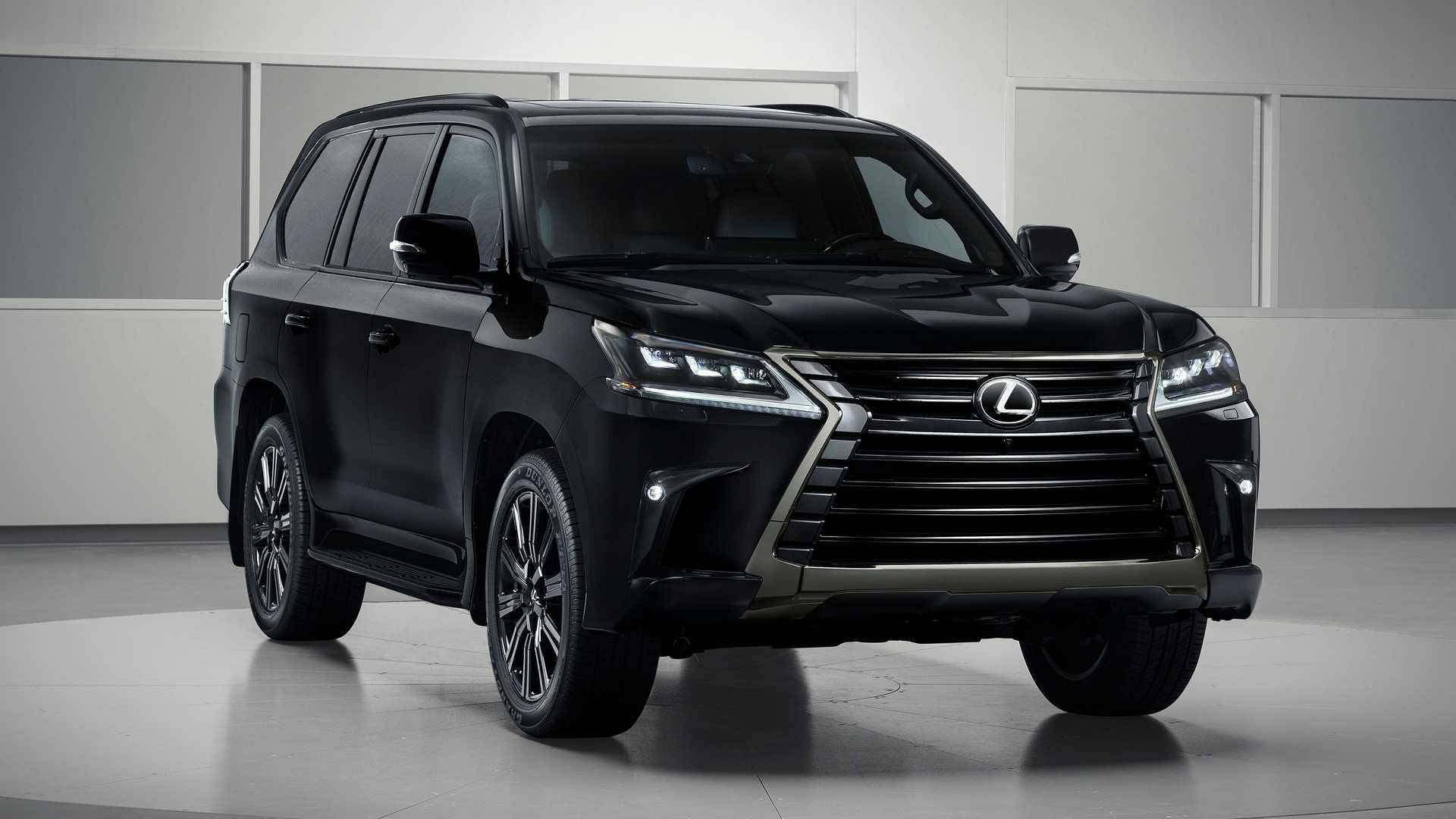 2019 Lexus Lx Inspiration Series Revealed In Black Onyx
