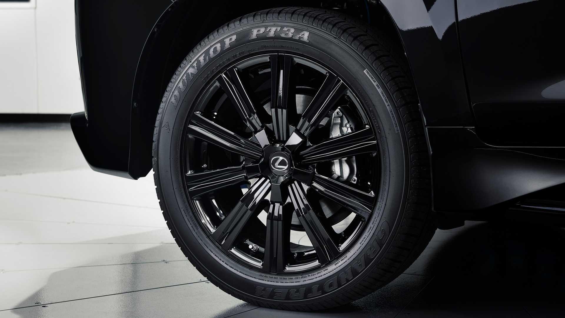 2019 Lexus LX Inspiration Series Revealed In Black Onyx ...
