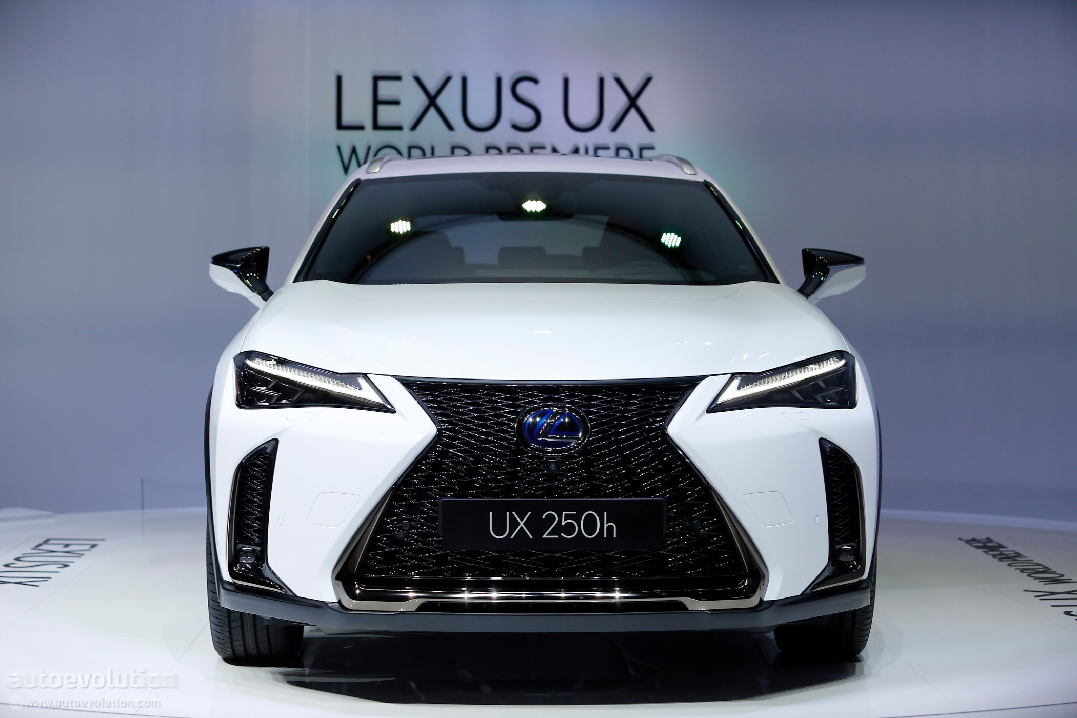 2019 Lexus Ux 250h Shows Off Its Spindle Grille In Geneva Autoevolution