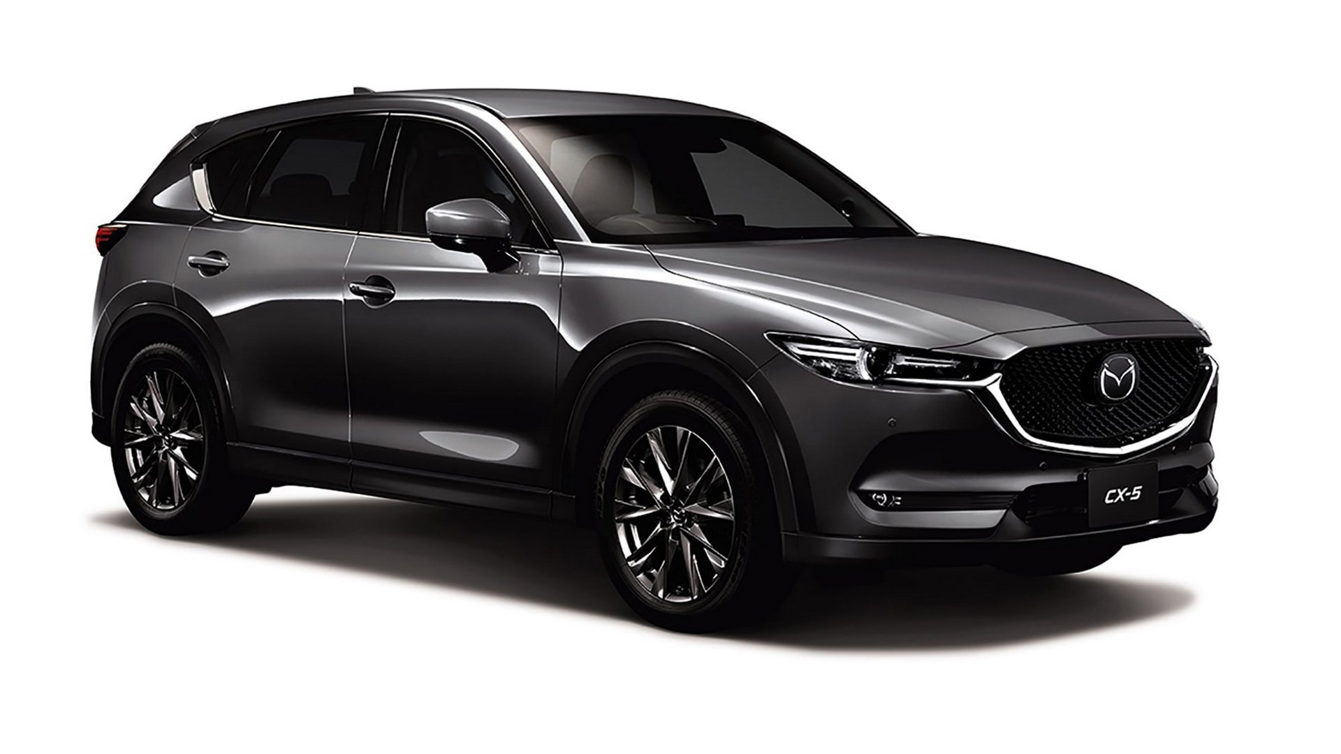 2019 mazda cx 5 gets 2 5 liter turbo android auto and apple carplay in japan autoevolution. Black Bedroom Furniture Sets. Home Design Ideas