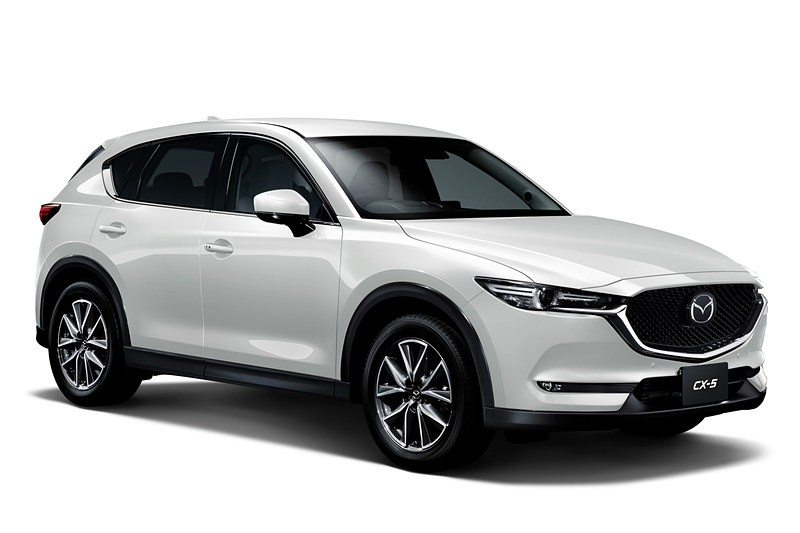2019 Mazda Cx 5 Gets 2 5 Liter Turbo Android Auto And Apple Carplay In Japan Autoevolution