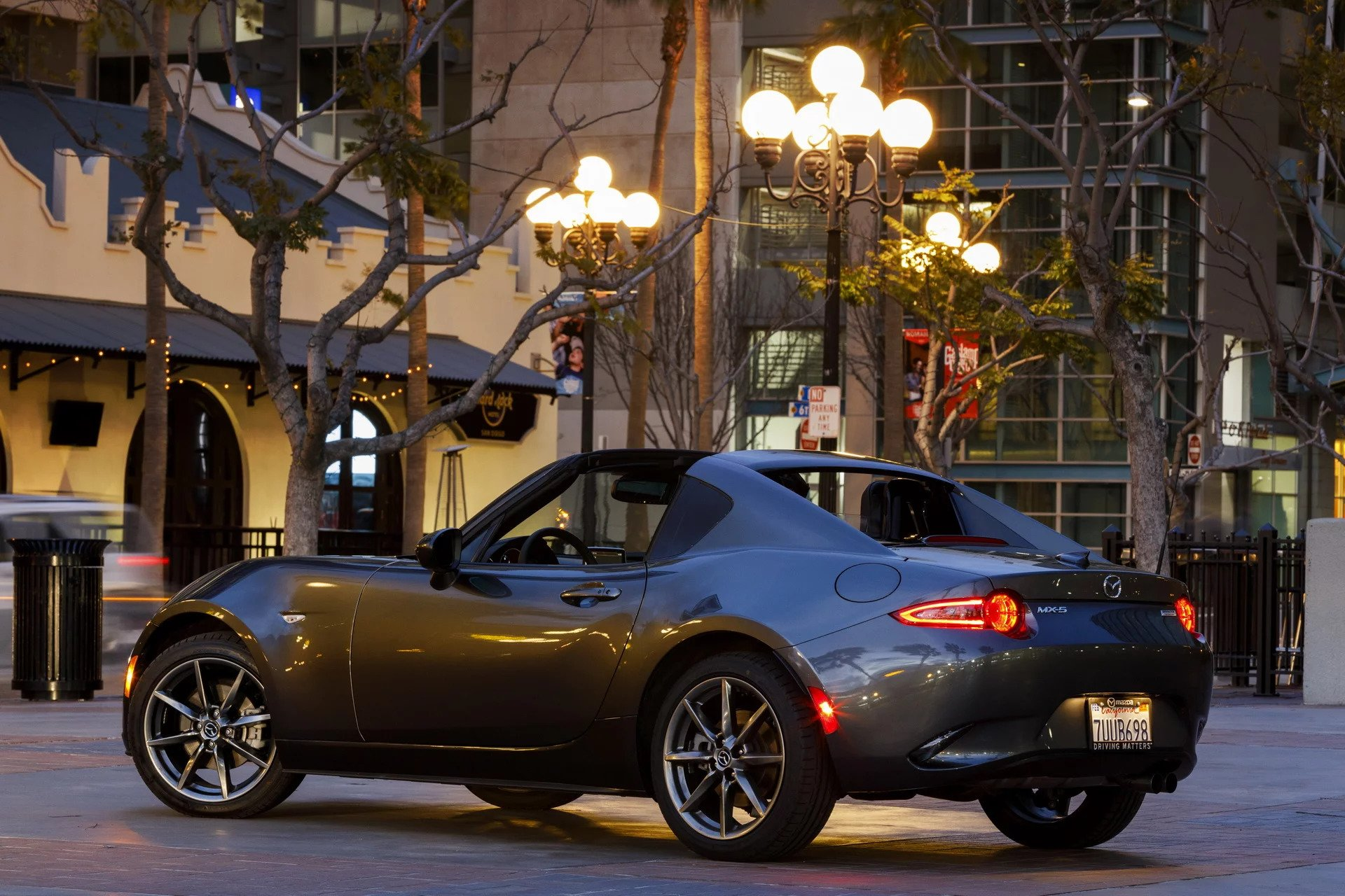2019 mazda mx 5 rf has more power costs 33 335. Black Bedroom Furniture Sets. Home Design Ideas