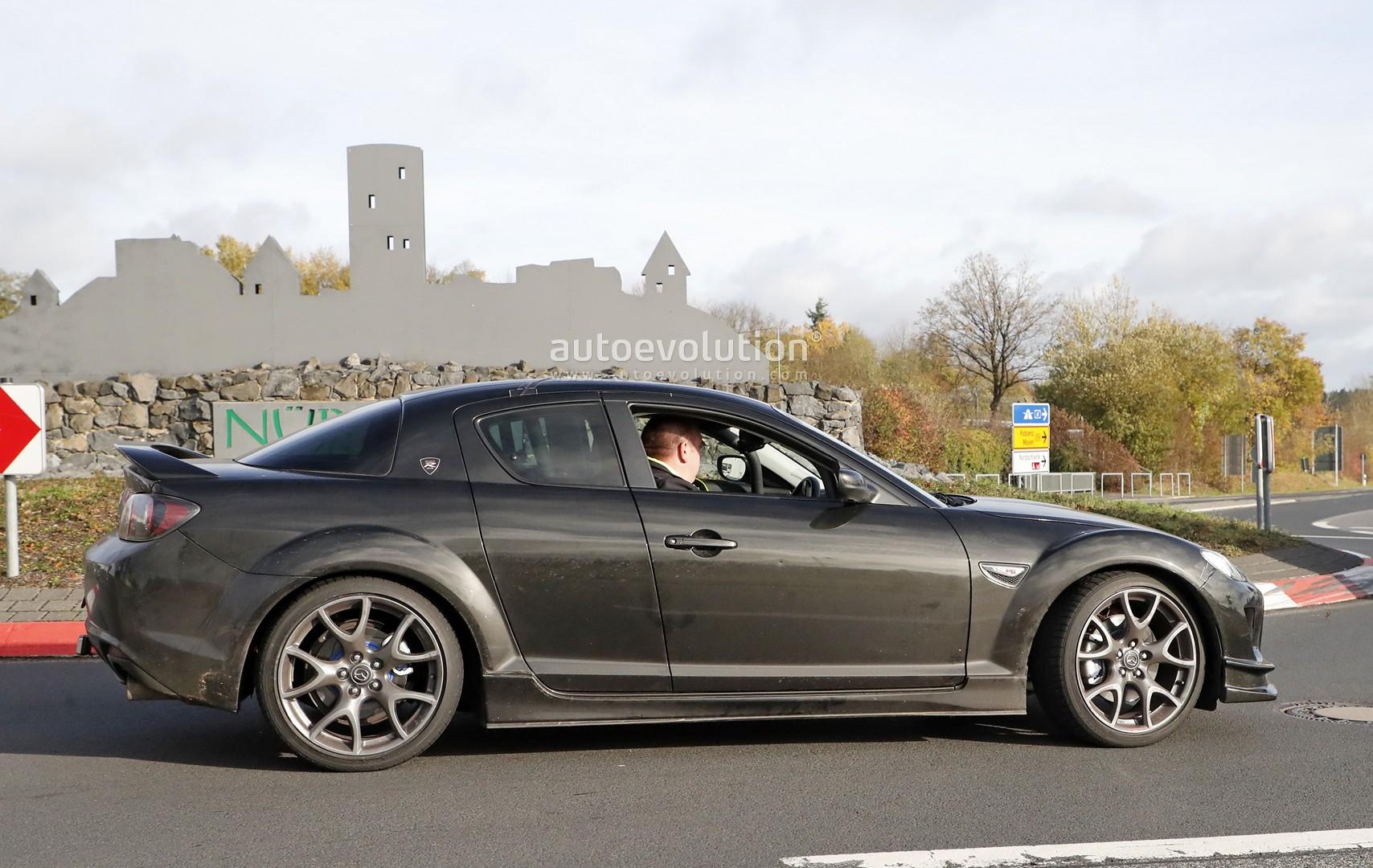 2020 Mazda RX-9 Mule Makes Spyshots Debut, Looks Odd ...
