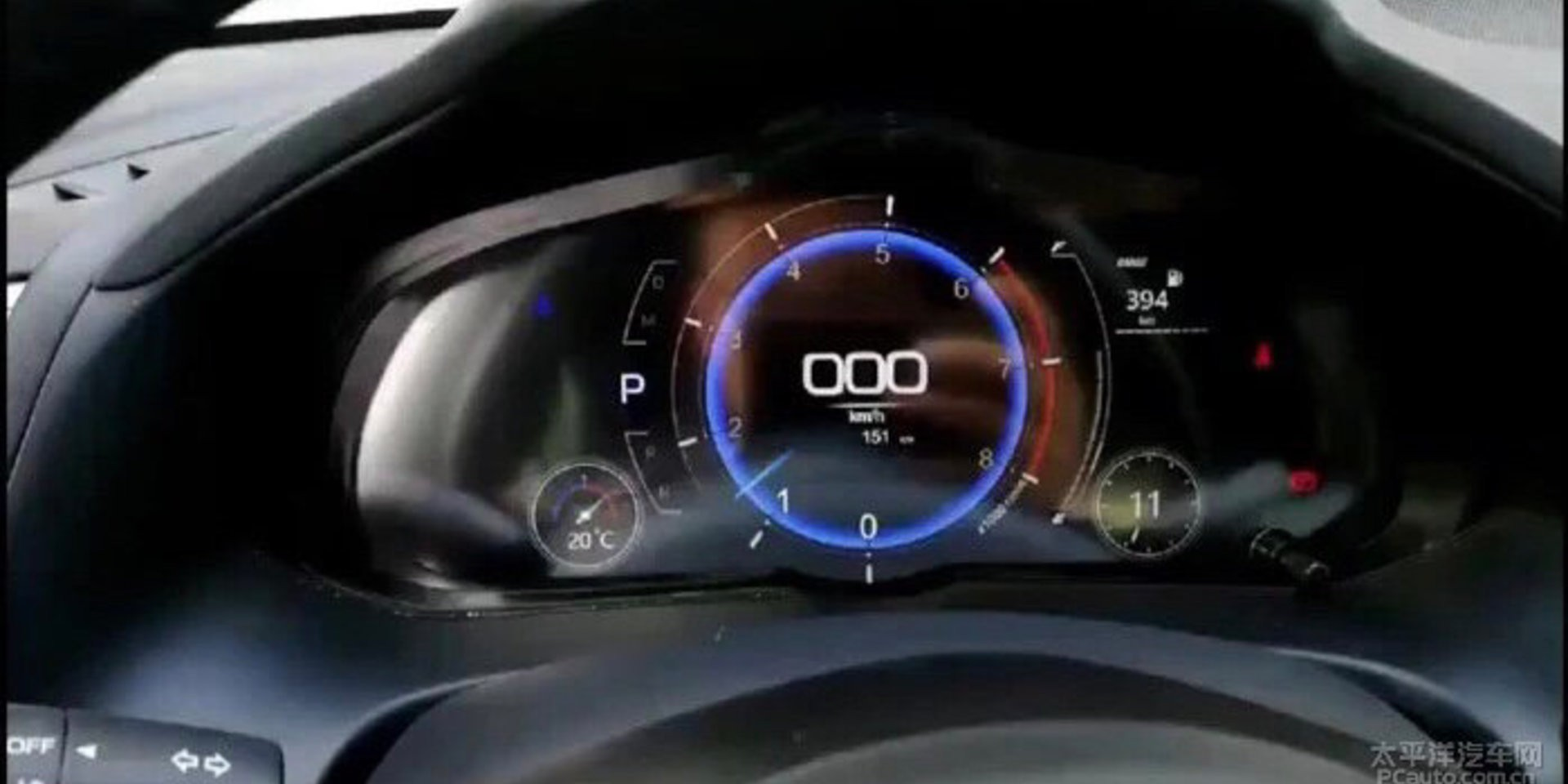 2019 Mazda3 Digital Instrument Cluster Looks Alright In ...