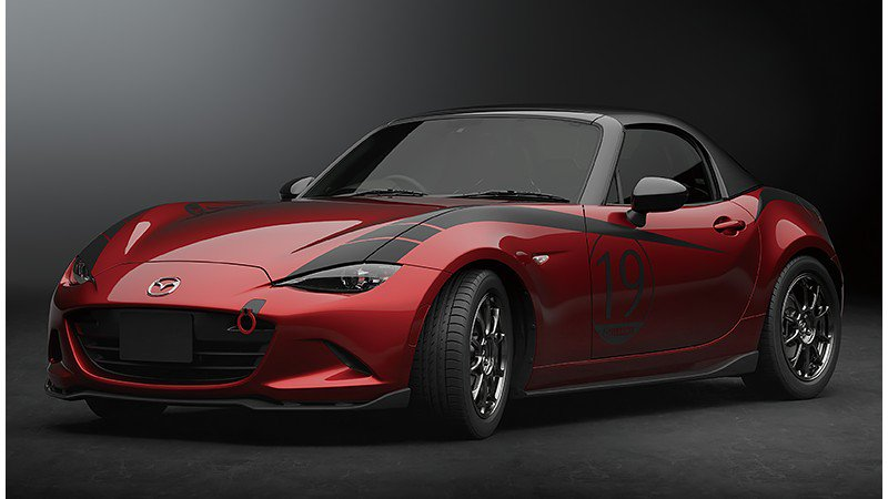 mazda bringing detachable hardtop mx 5 miata concept to 2019 tokyo auto salon autoevolution. Black Bedroom Furniture Sets. Home Design Ideas