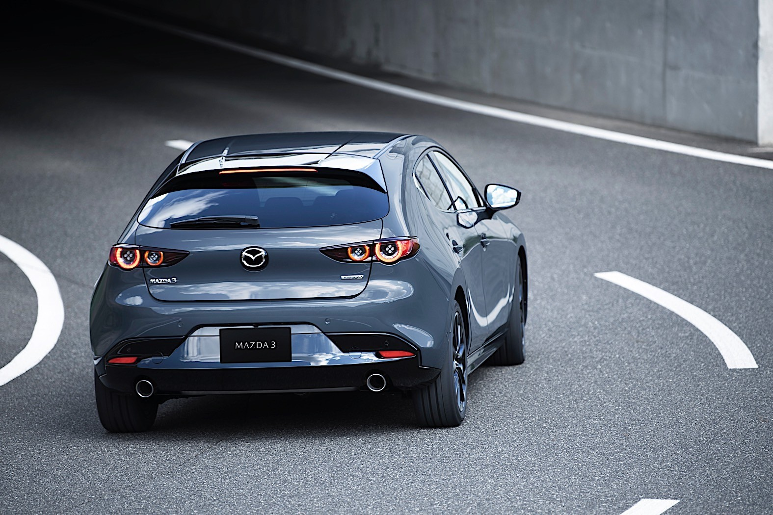 Even Though The Mazda3 Now Features Torsion Beam Rear Suspension Hiroshima Based Automaker Decided To Sweeten Deal With All Wheel Drive From