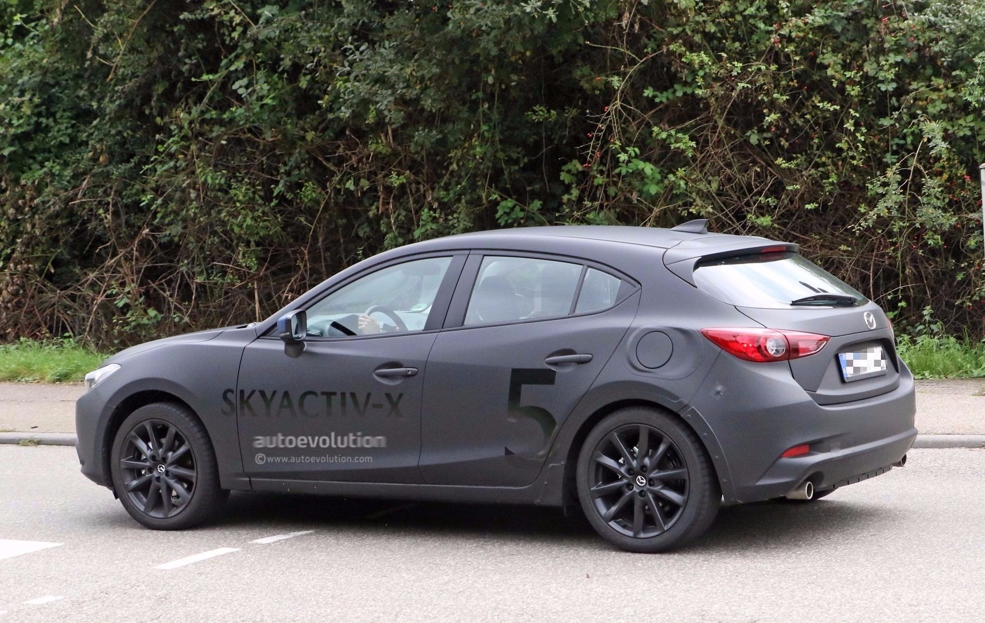 Mazda Axela 2019 >> 2019 Mazda3 Teaser Video Shows Hatchback Body Style, Looks Ready For Production - autoevolution