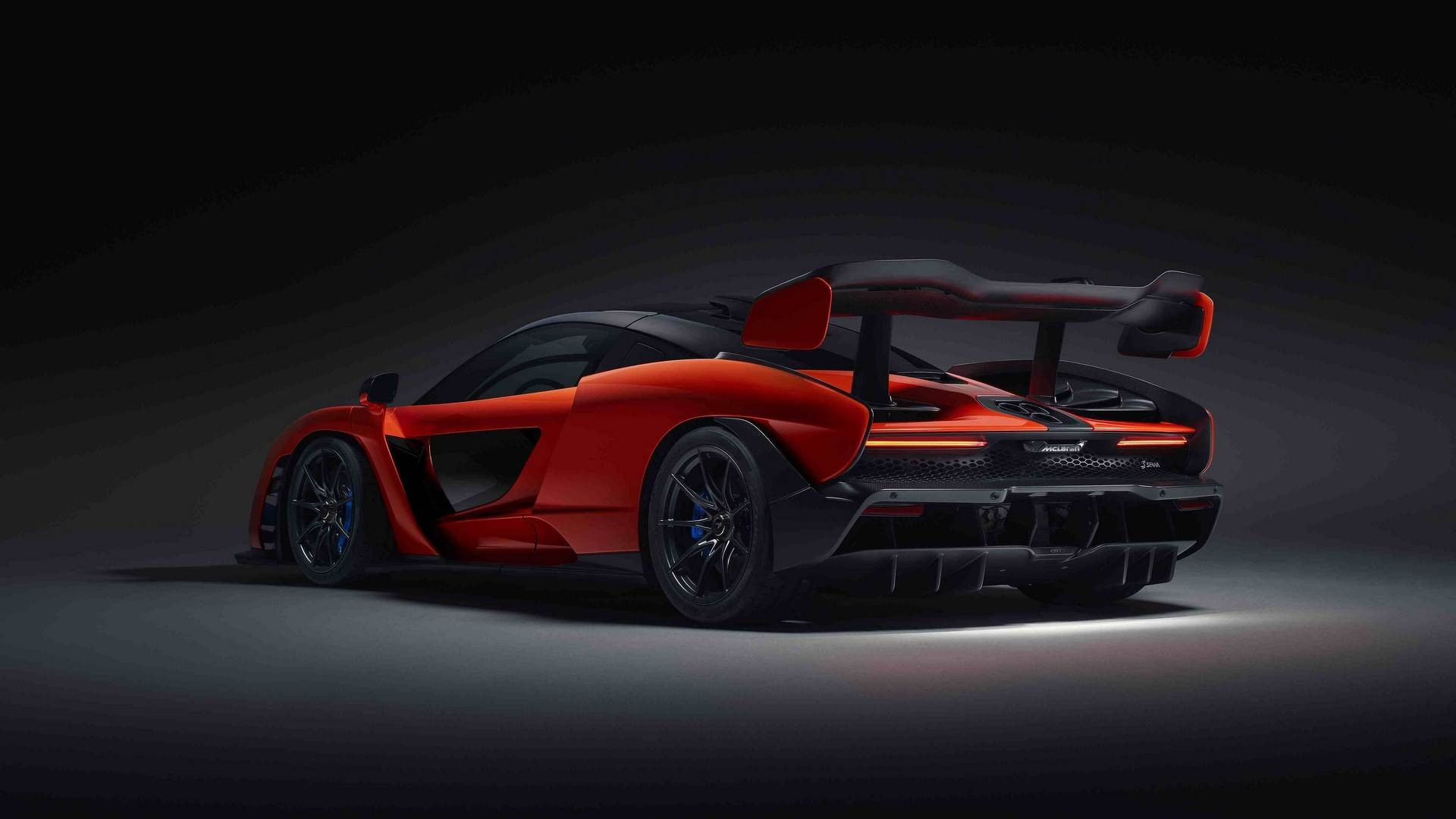 Mclaren Senna With Ayrton Livery Seeks Double The Glory