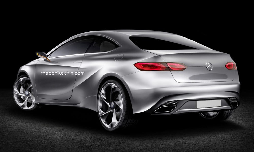 2019 Mercedes A-Class Coupe Rendering Shows Future Audi TT Competitor ...