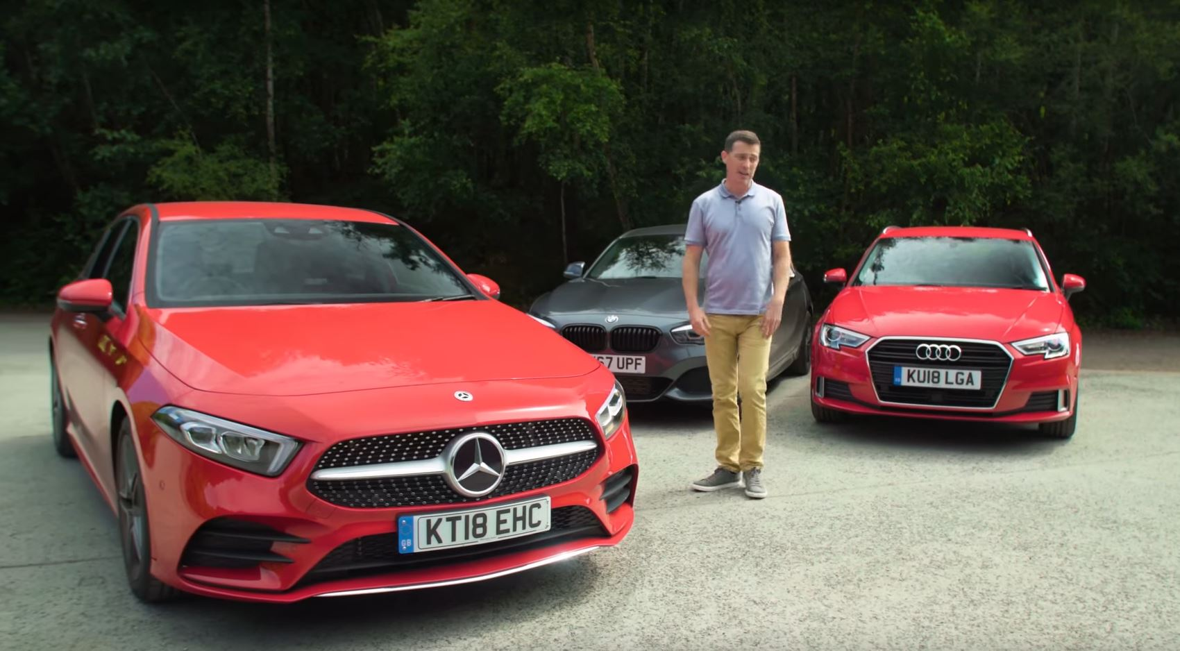 2019 Mercedes A Class Finally Compared To Audi A3 And Bmw 1