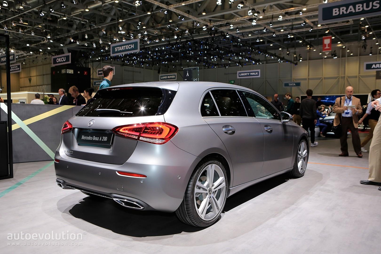 Fiat Electric Car >> 2019 Mercedes-Benz A-Class Redefines the Premium Compact in Geneva - autoevolution