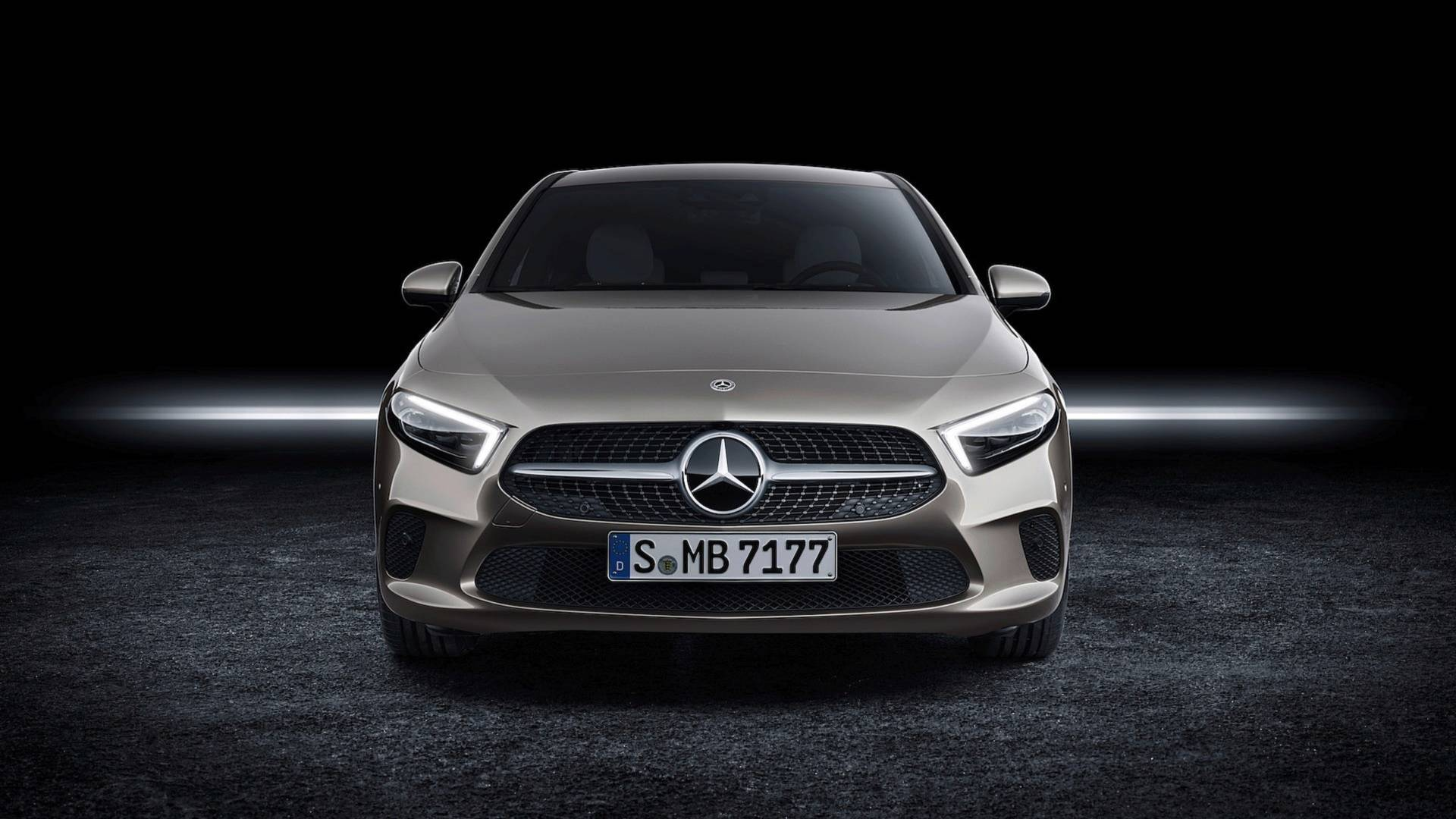 2019 Mercedes Benz A Class Sedan V177 Is Far More Elegant Than