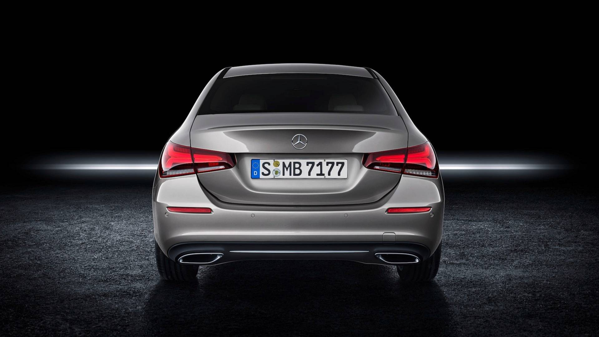 2019 mercedes benz a class sedan v177 is far more. Black Bedroom Furniture Sets. Home Design Ideas