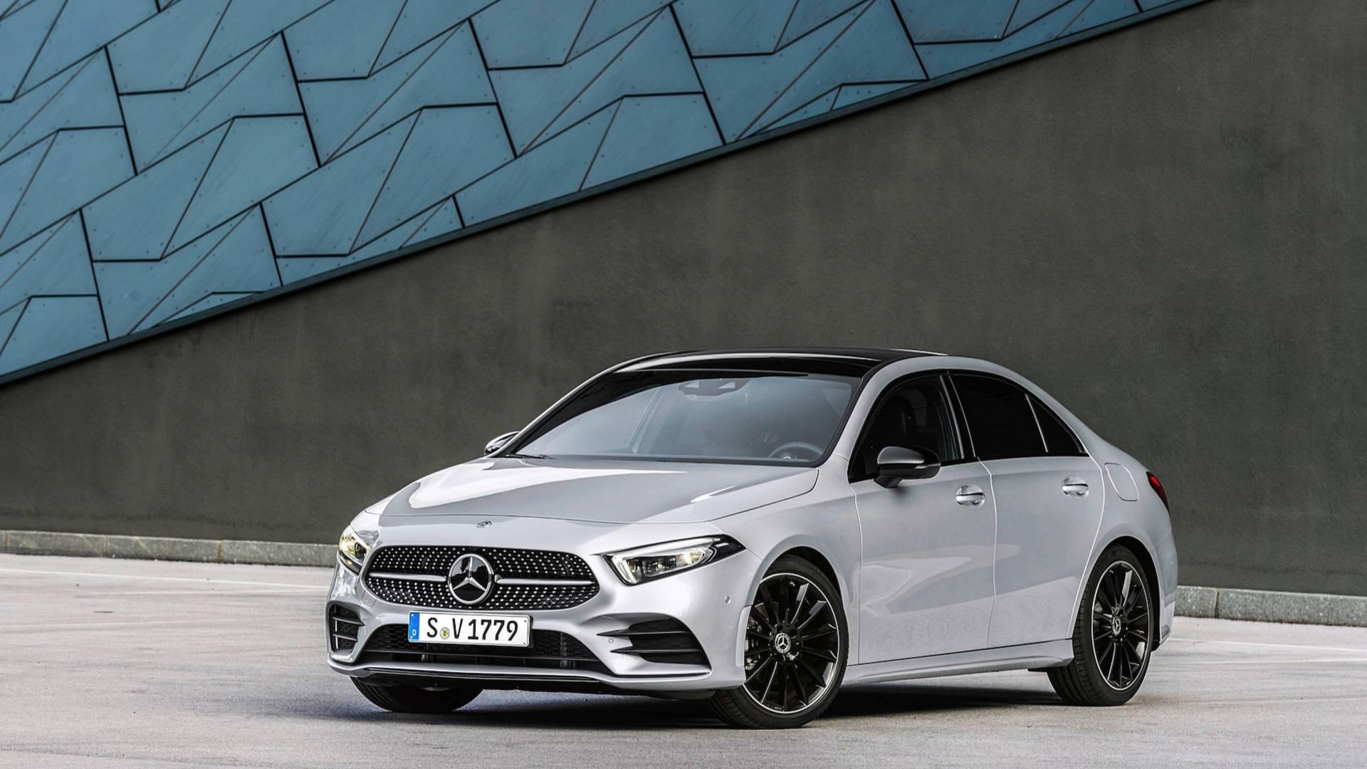 2019 mercedes benz a class sedan v177 is far more elegant than hatchback autoevolution