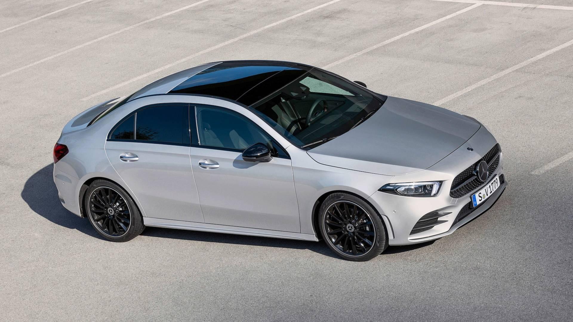 2019 mercedes benz a class sedan v177 is far more elegant than hatchback autoevolution. Black Bedroom Furniture Sets. Home Design Ideas