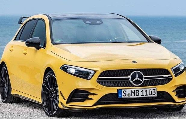 2019 Mercedes Amg A35 4matic Leaked Looks Fun To Drive
