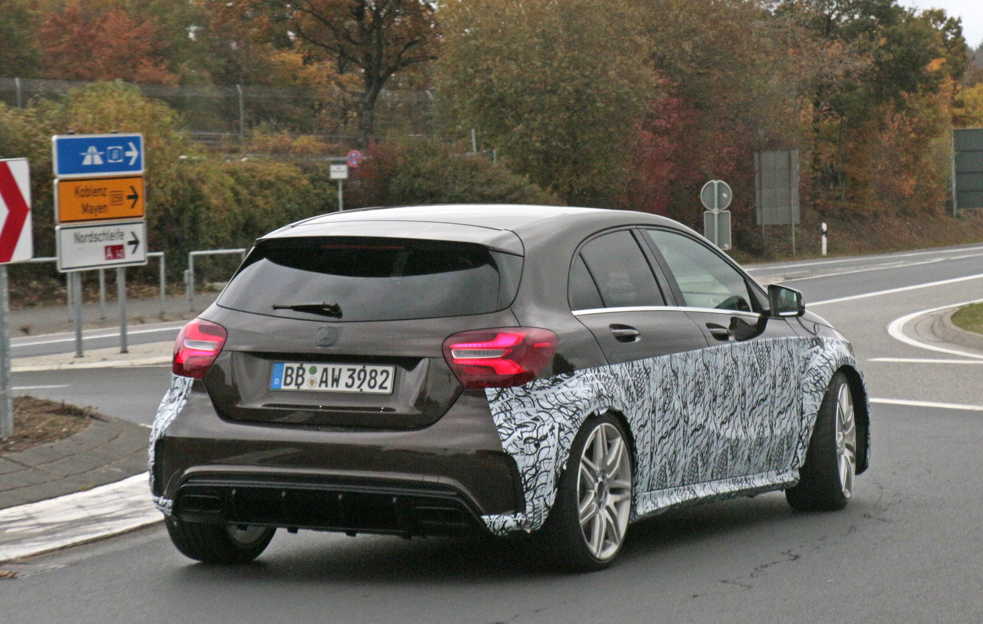 2019 Mercedes Amg A45 To Pack More Than 400 Hp Autoevolution