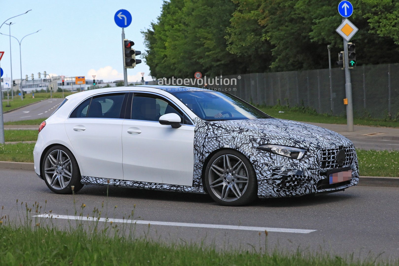2019 Mercedes Amg A50 A53 Spied In Detail Autoevolution