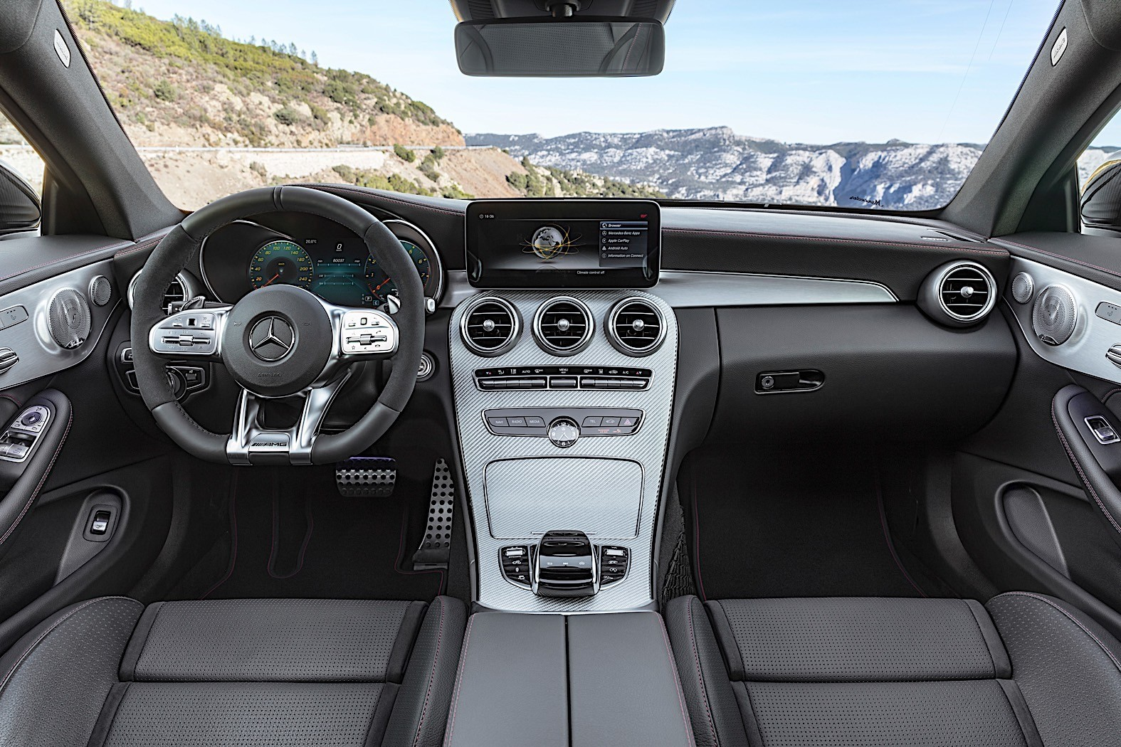 Refreshed 2019 Mercedes-AMG C43 Coupe and Cabrio Bring ...
