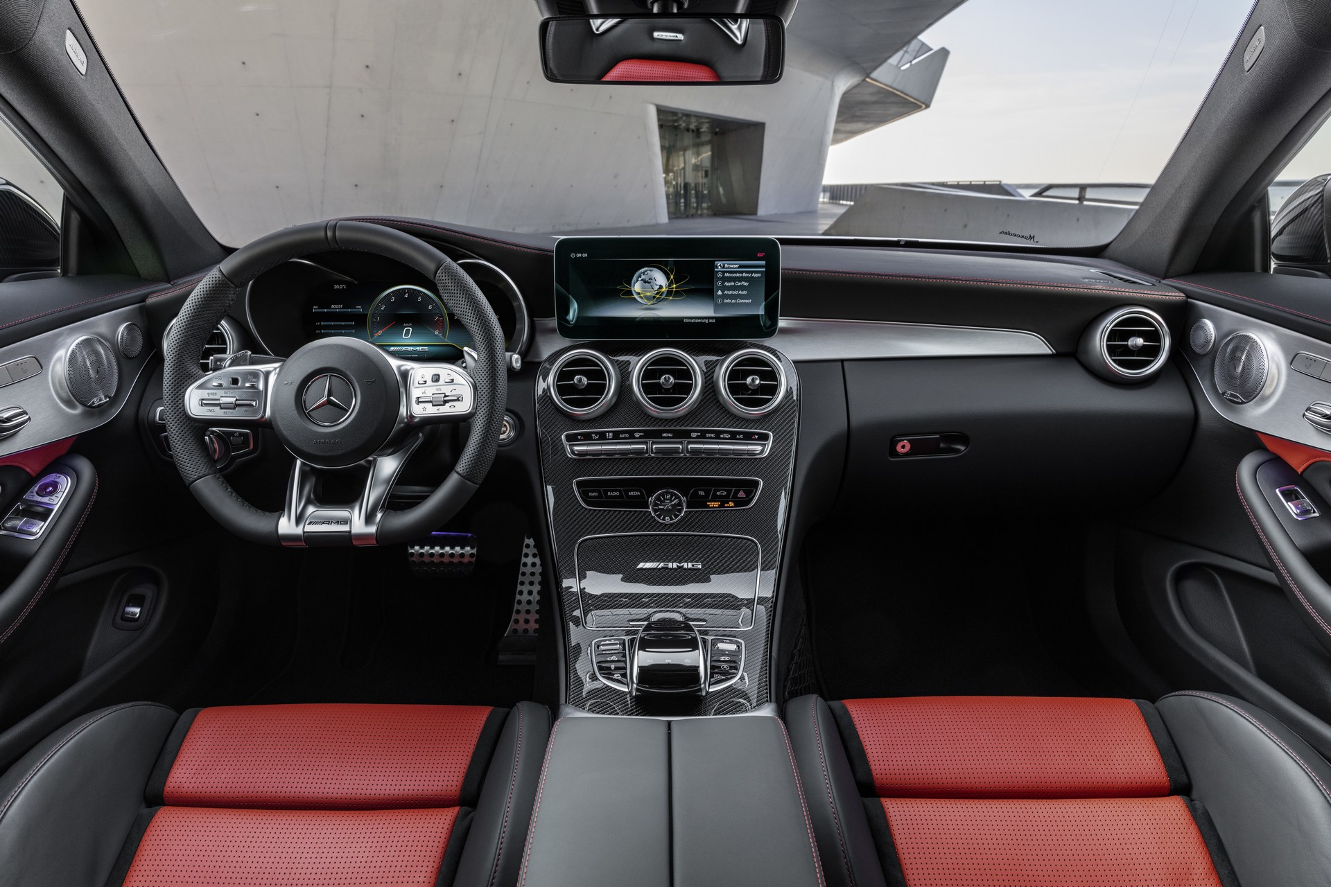 2019 mercedes amg c63 coupe debuts facelift look in new york autoevolution. Black Bedroom Furniture Sets. Home Design Ideas