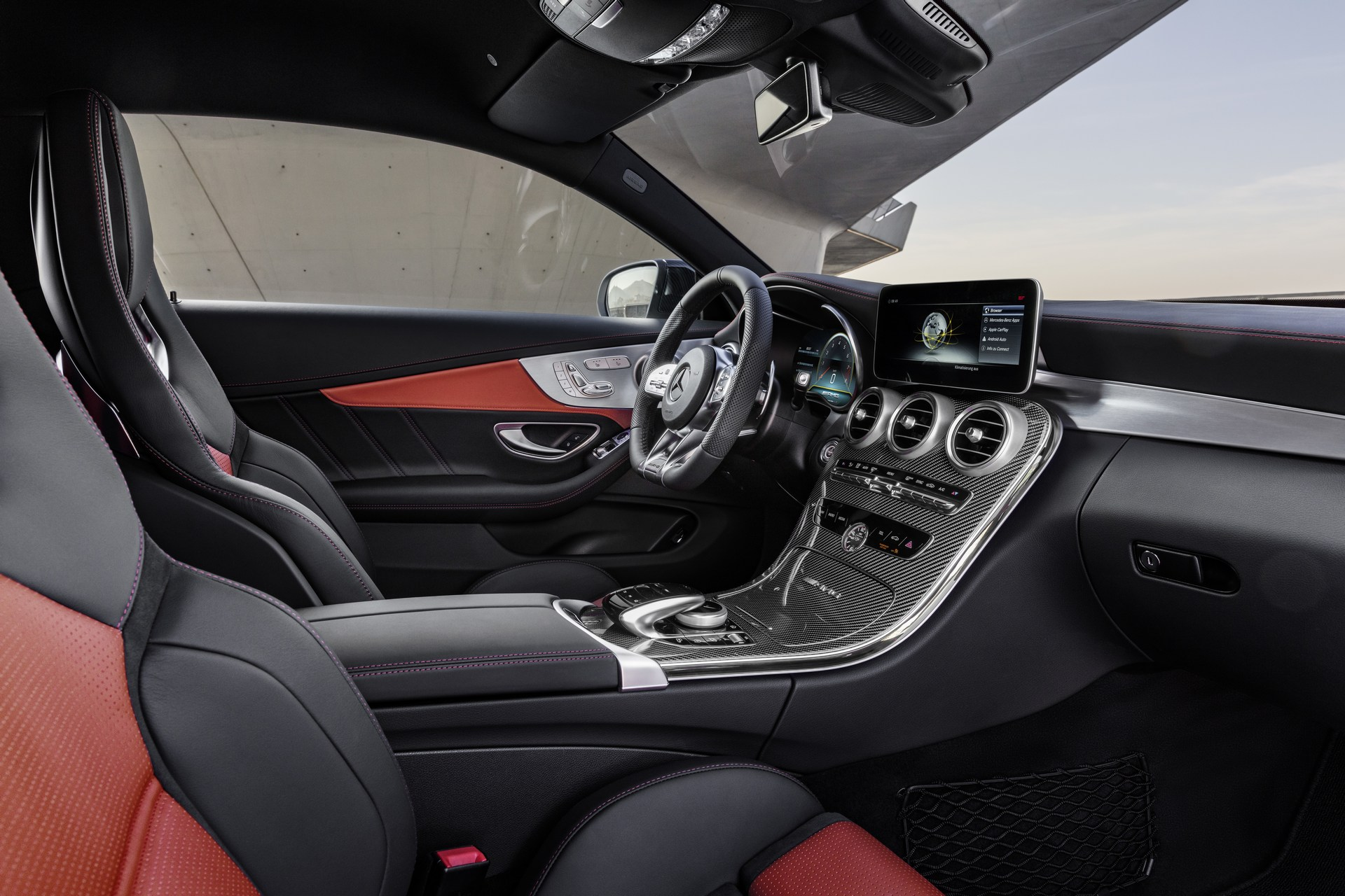 2019 Mercedes-AMG C63 Coupe Debuts Facelift Look in New ...