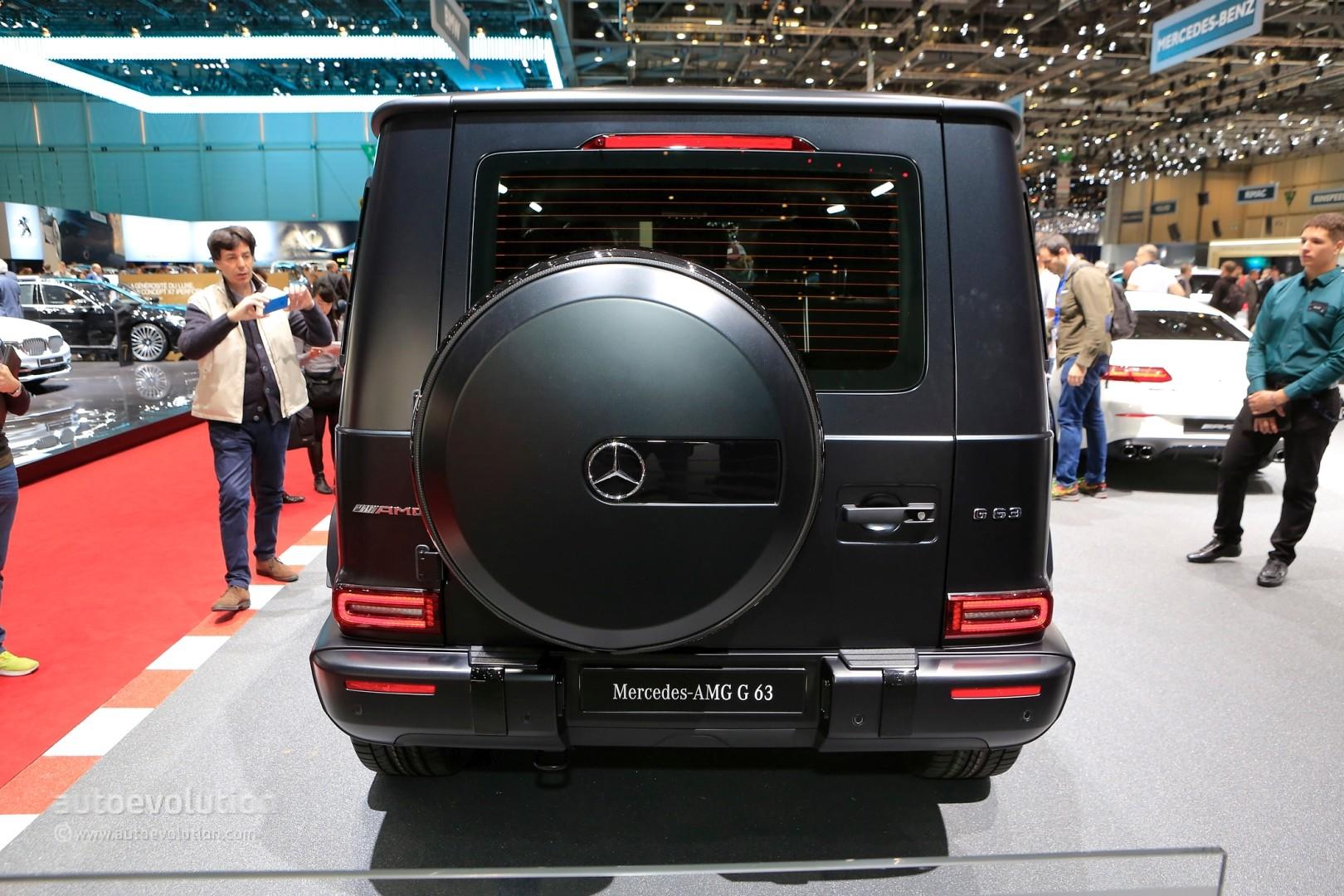Mercedes G63 2018 >> 2019 Mercedes-AMG G63 Edition 1 Shows Darth Vader Spec in Geneva - autoevolution