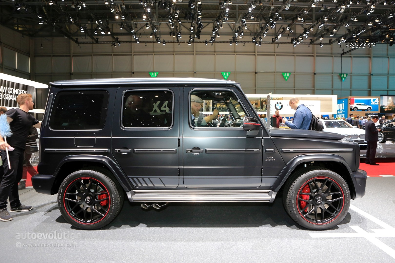 2019 mercedes amg g63 edition 1 shows darth vader spec in geneva autoevolution. Black Bedroom Furniture Sets. Home Design Ideas